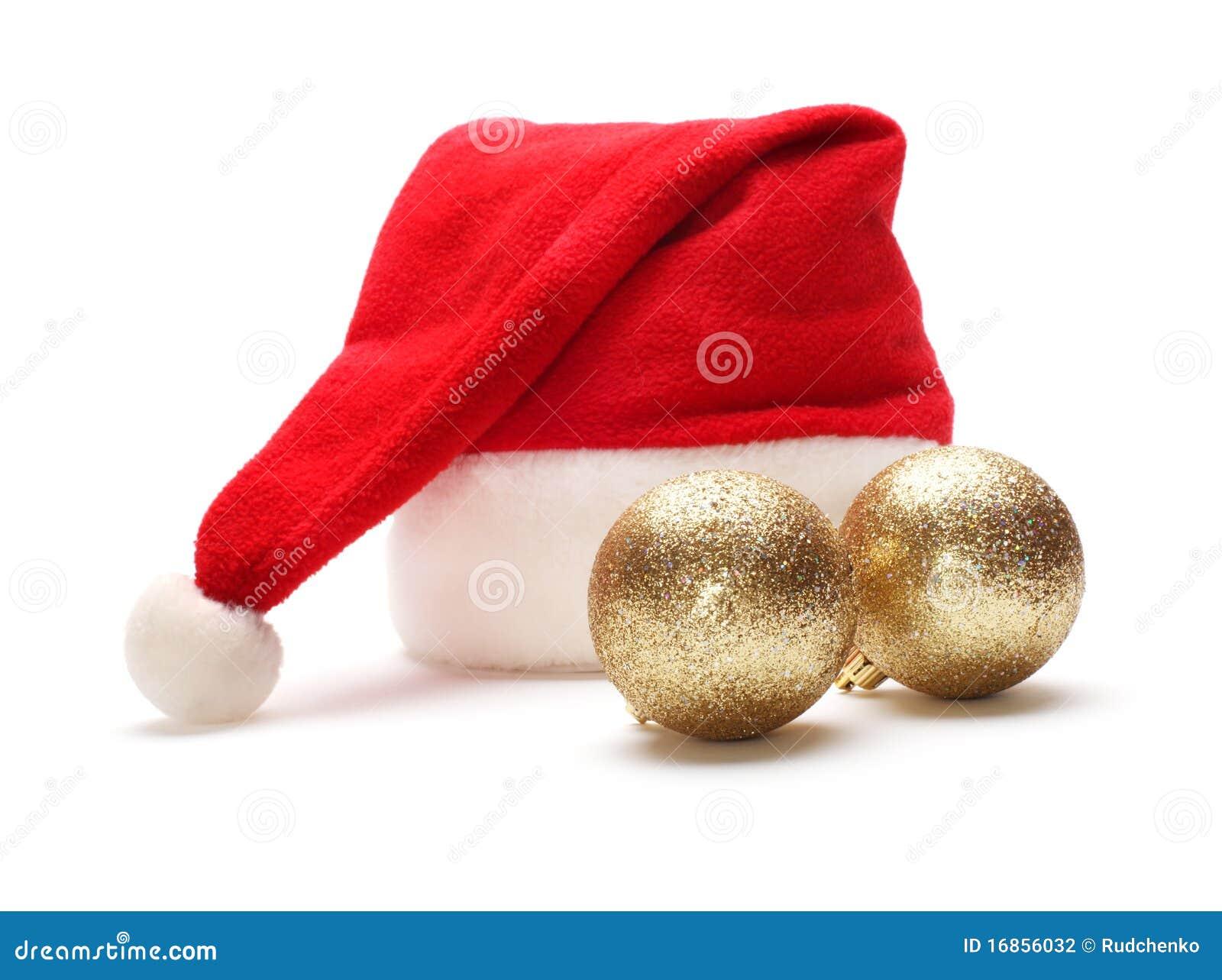Esfera do chapéu e do Natal de Papai Noel