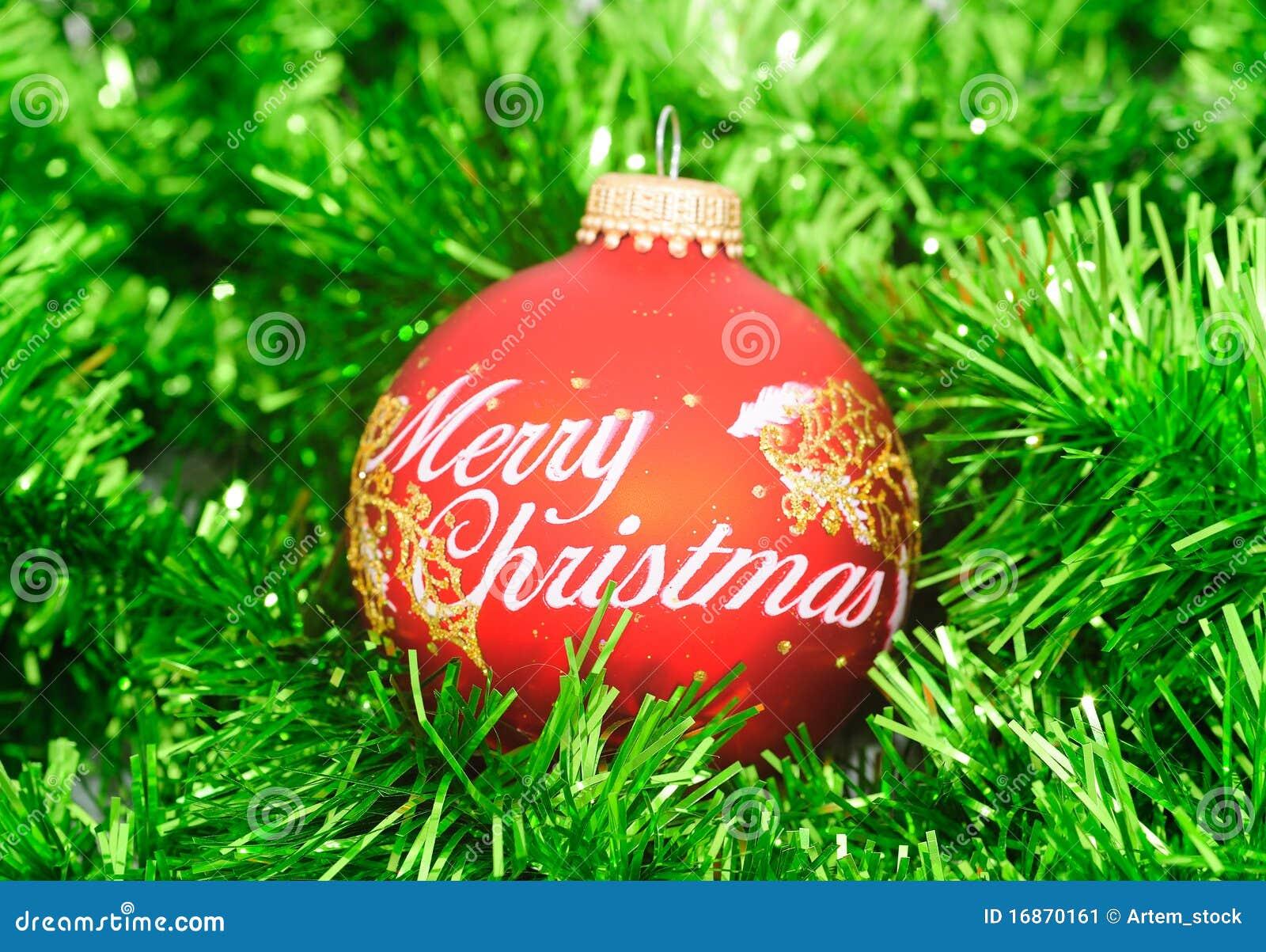 Esfera do Feliz Natal