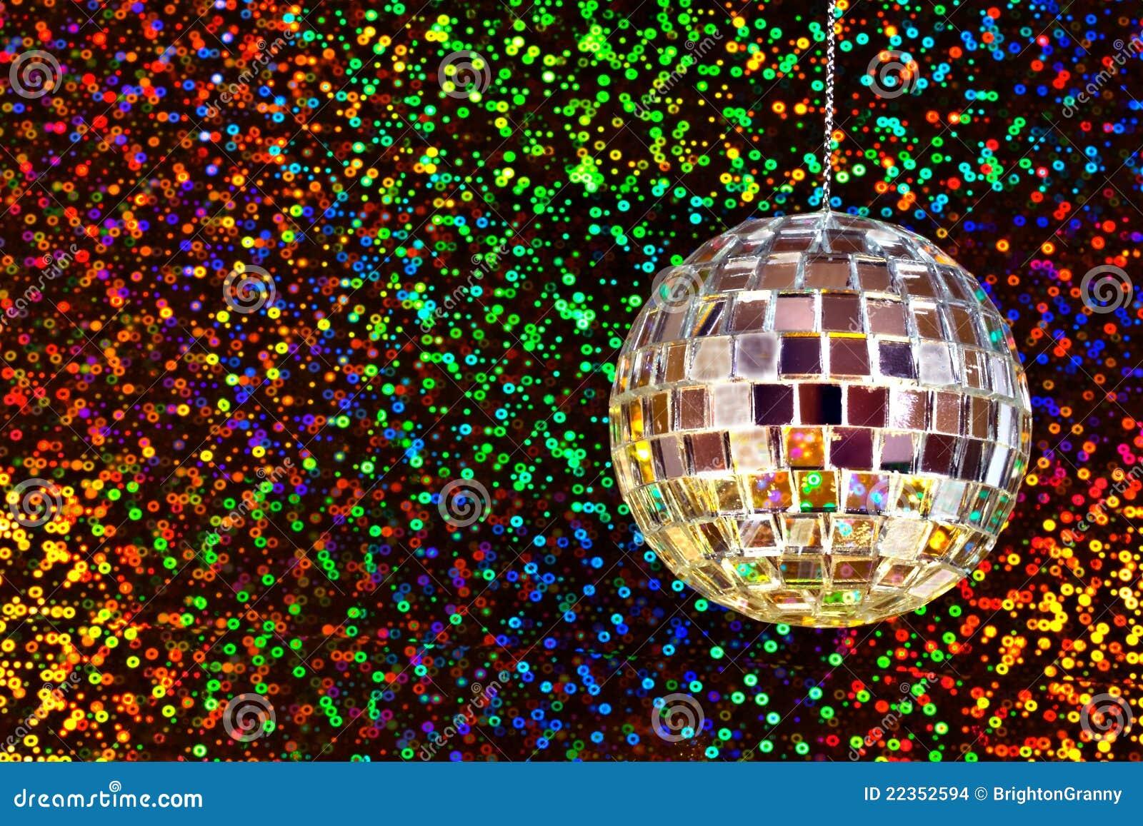 Esfera do glitter do disco