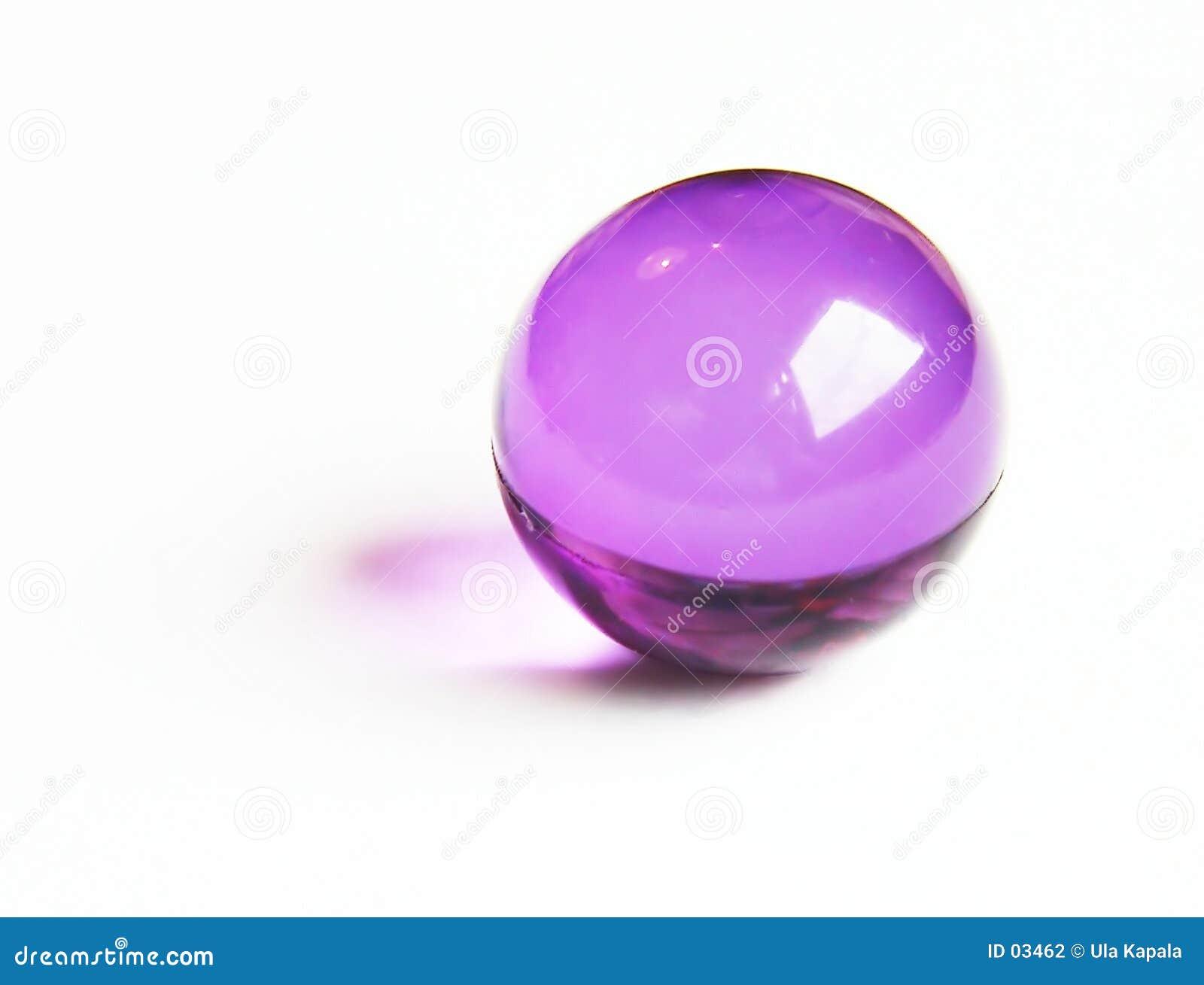 Esfera roxa do banho