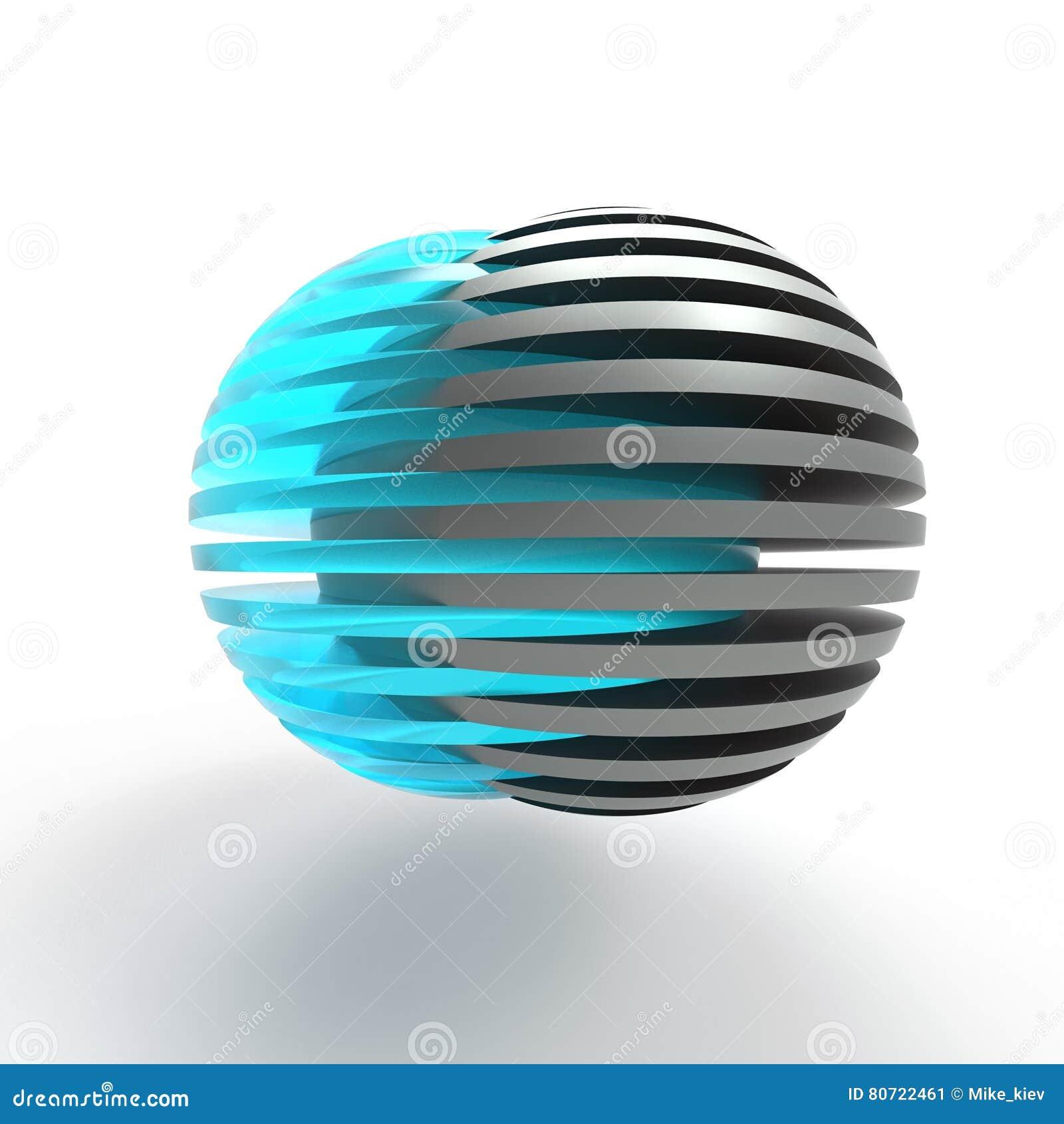 Esferas cortadas de conexão