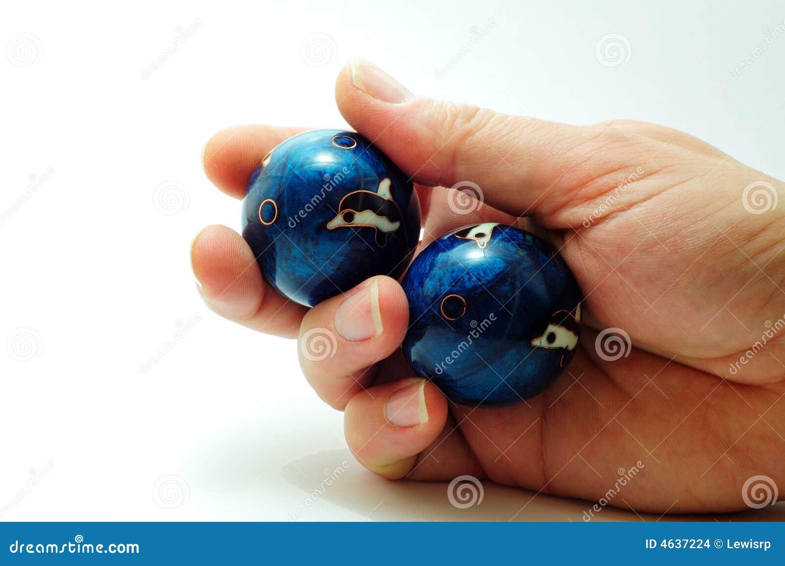Esferas de Baoding disponivéis