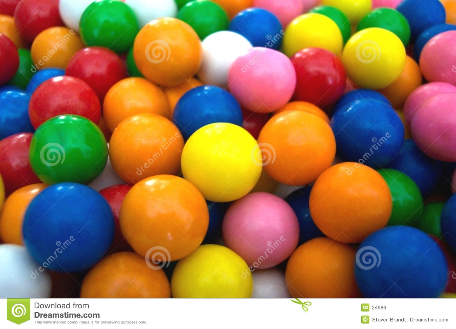 Esferas de goma