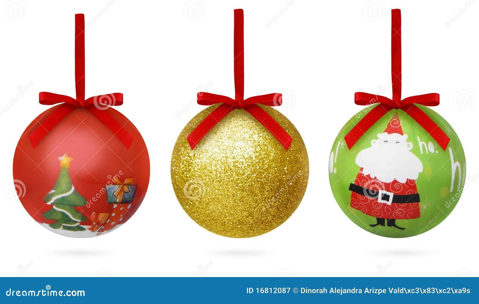 Esferas de la navidad de colorated imagen de archivo for Dibujos de navidad bolas