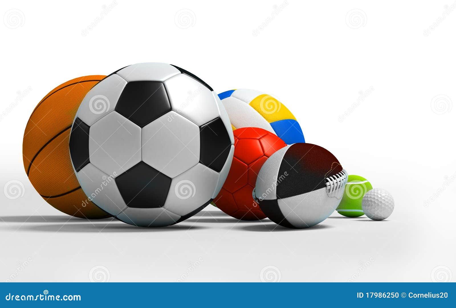 Esferas diferentes do esporte