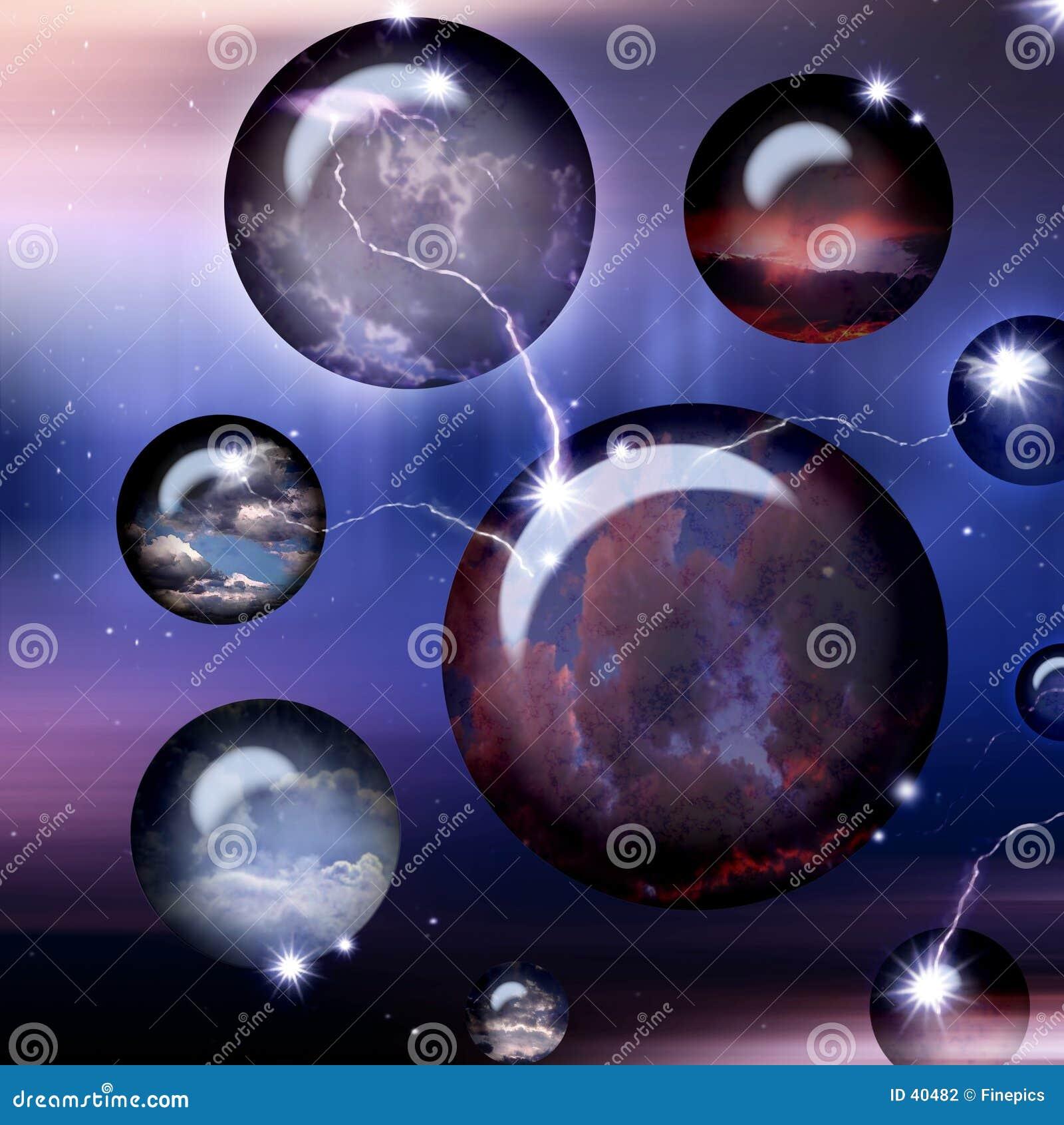 Esferas do espaço do Cyber