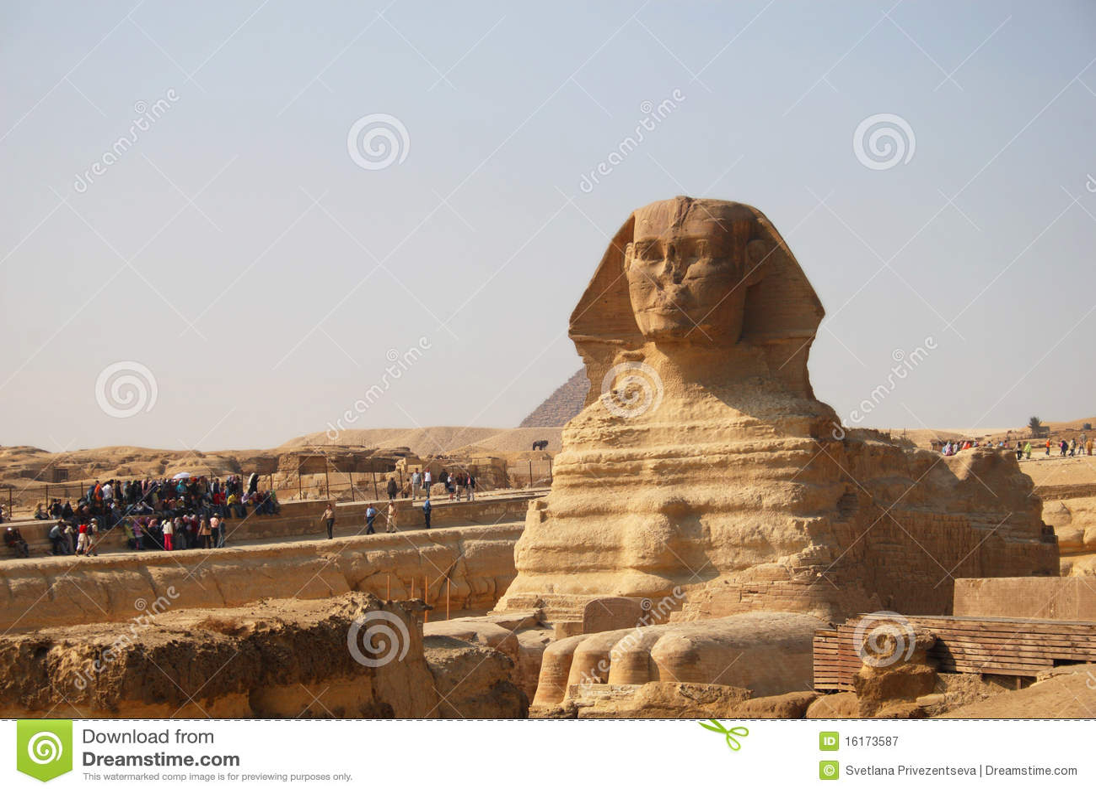 Esfinge antigua de Giza