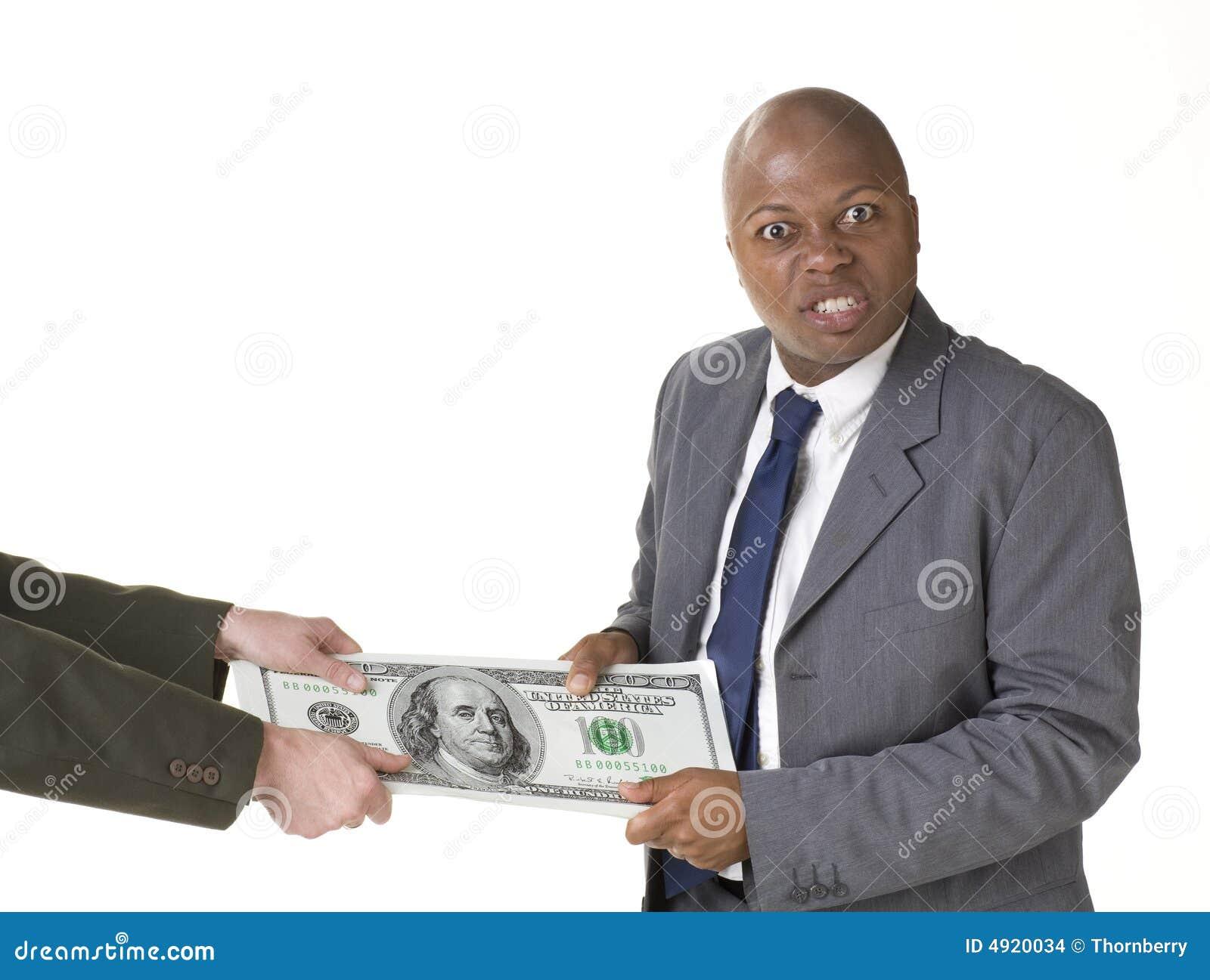 Esfuerzo supremo con el dinero grande