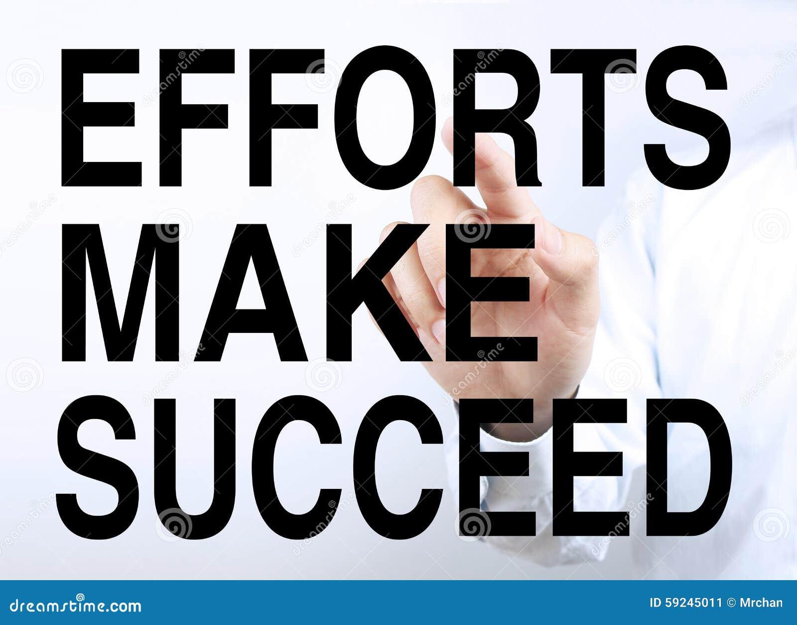 Esfuerzos hacen para tener éxito