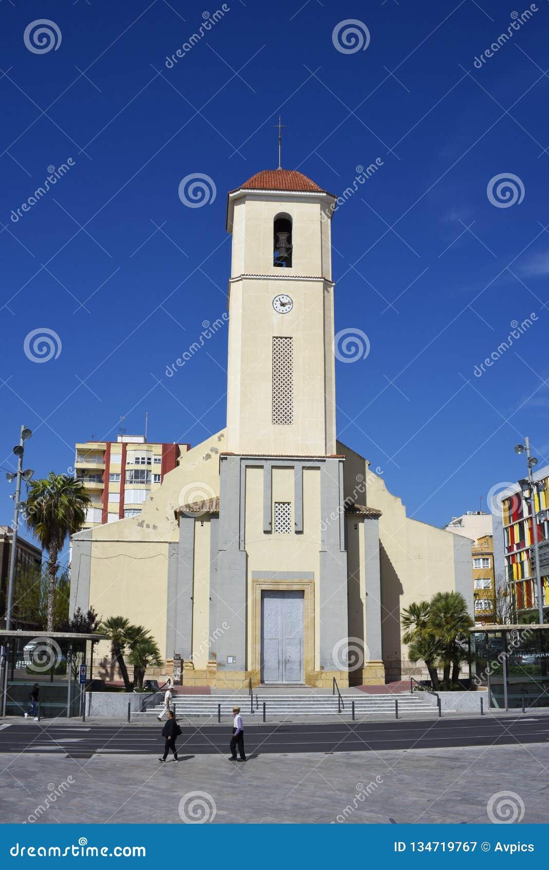 Esglesia DE Sant Jaume, Kerk van St James, Guardamar del Segura, Spanje Costa Blanca