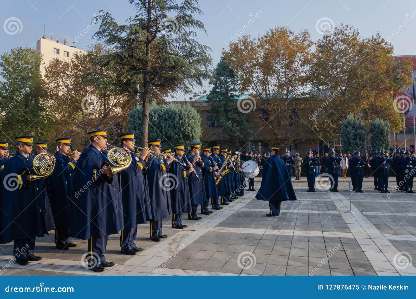 Eskisehir, Türkei-November 10,2017: Das große Führer AtatÃ-¼ rk ` s