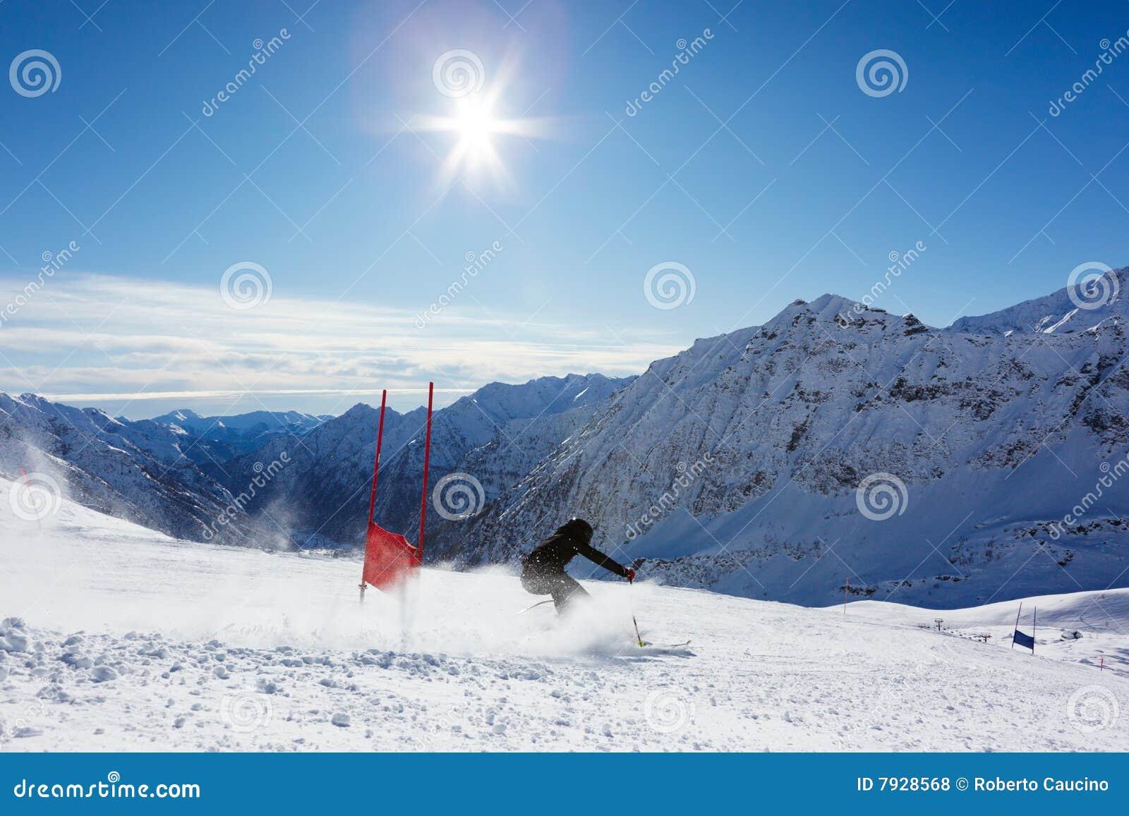 Eslalom del esquí
