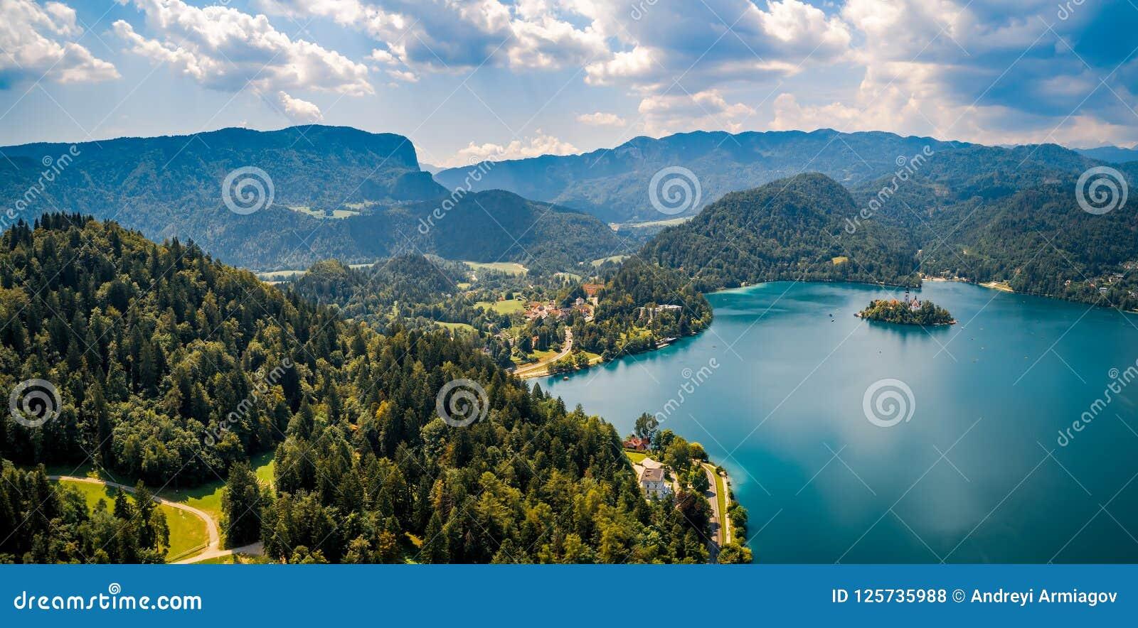 Eslovênia - lago do recurso sangrado