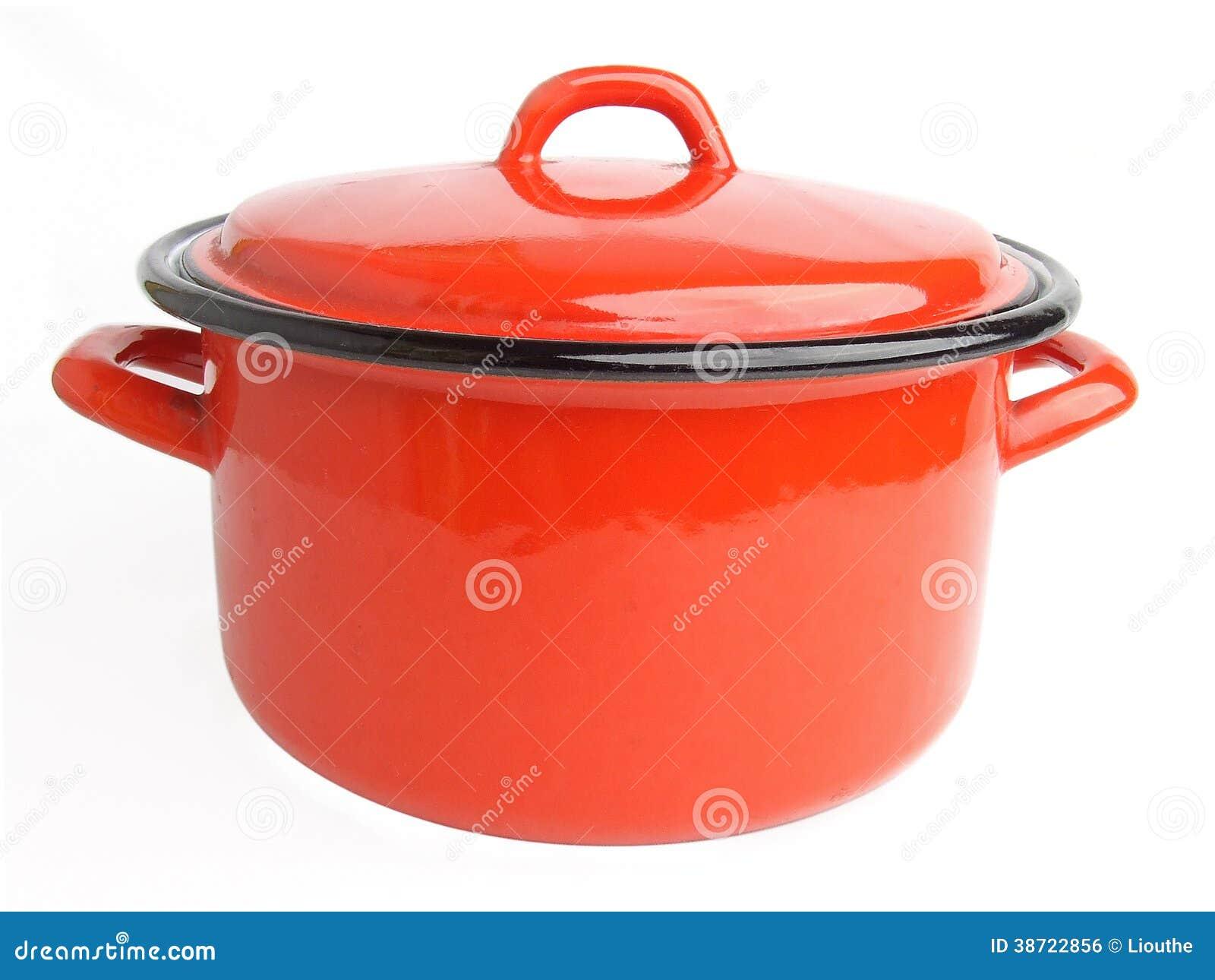 Esmalte que cocina el pote