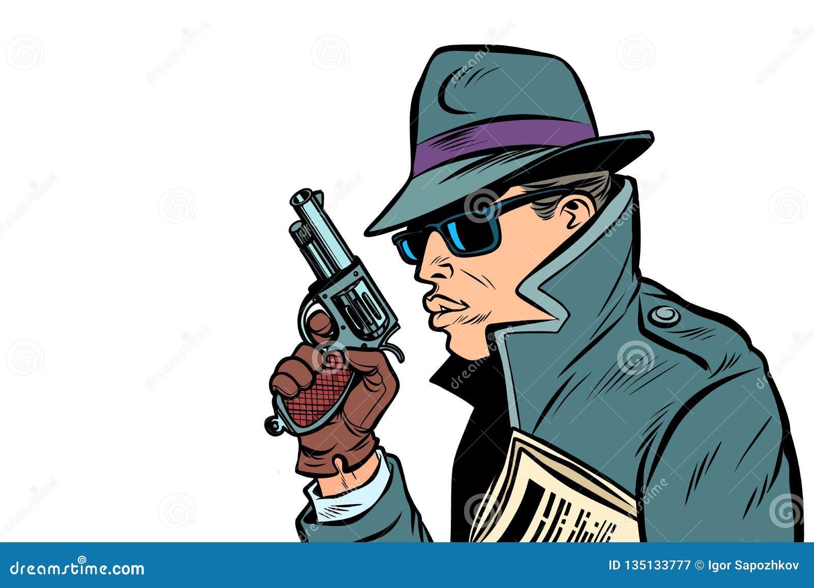 Espía del arma, agente secreto