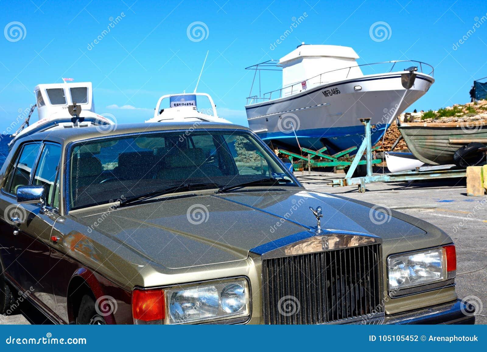 Espírito de prata Rolls Royce, Mellieha