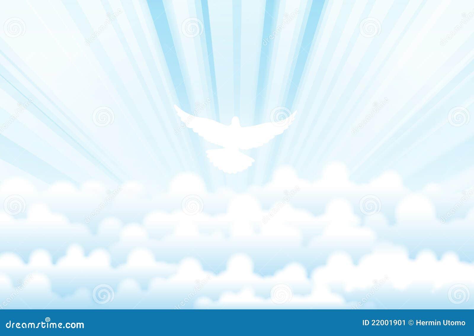 Espíritu Santo Ilustración Del Vector. Ilustración De
