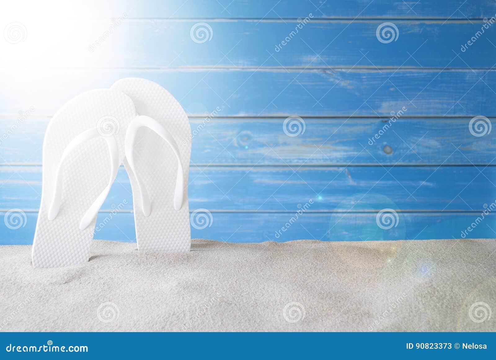Espacio de Sunny Summer Background With Copy para el anuncio