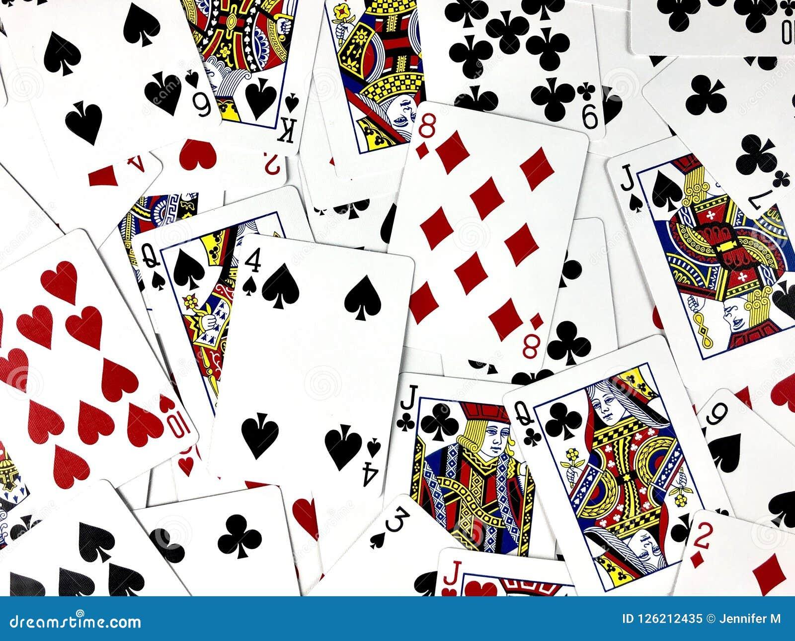 Espadas reales del flash del casino de las tarjetas que juegan