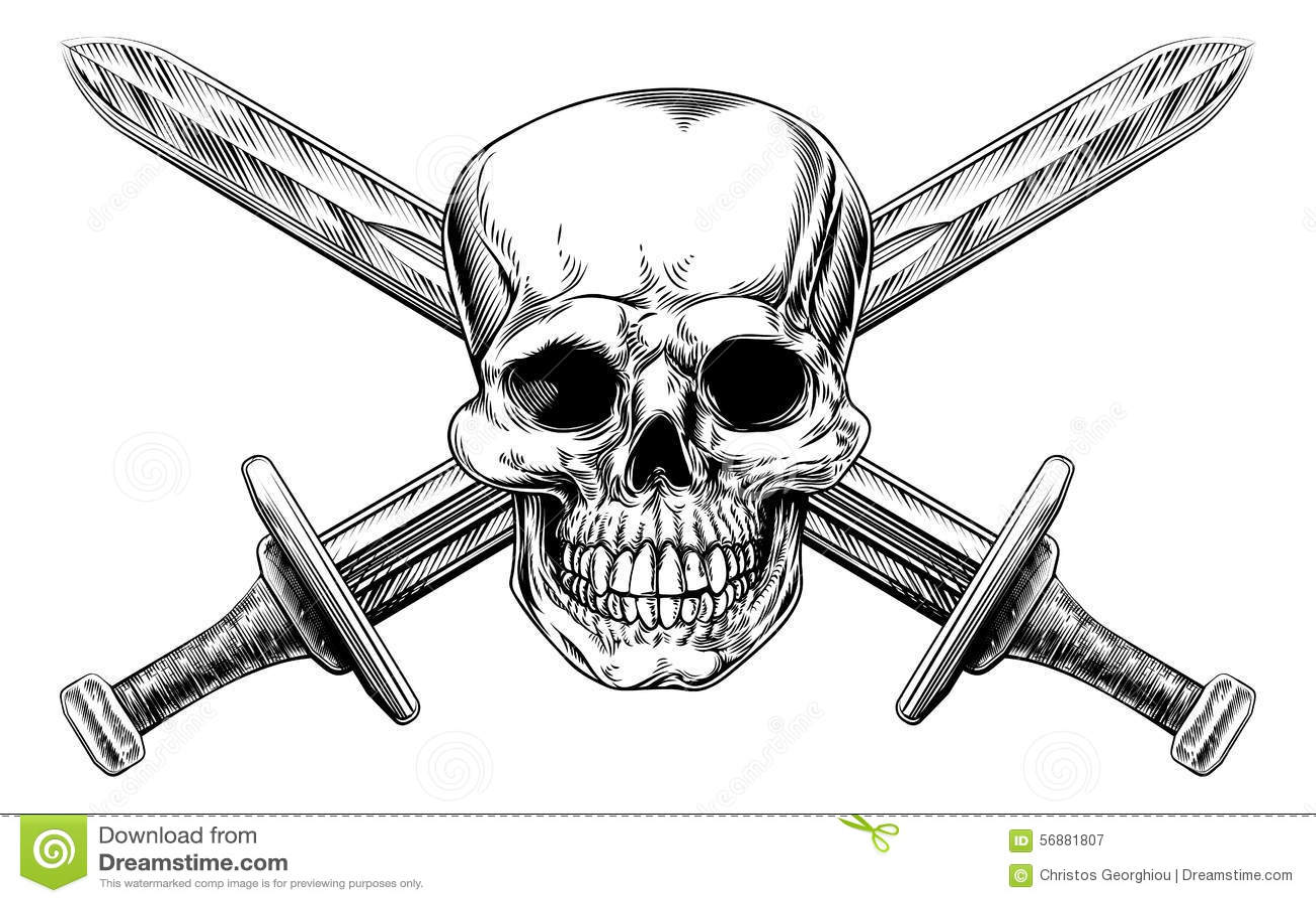 Espadas transversais do crânio