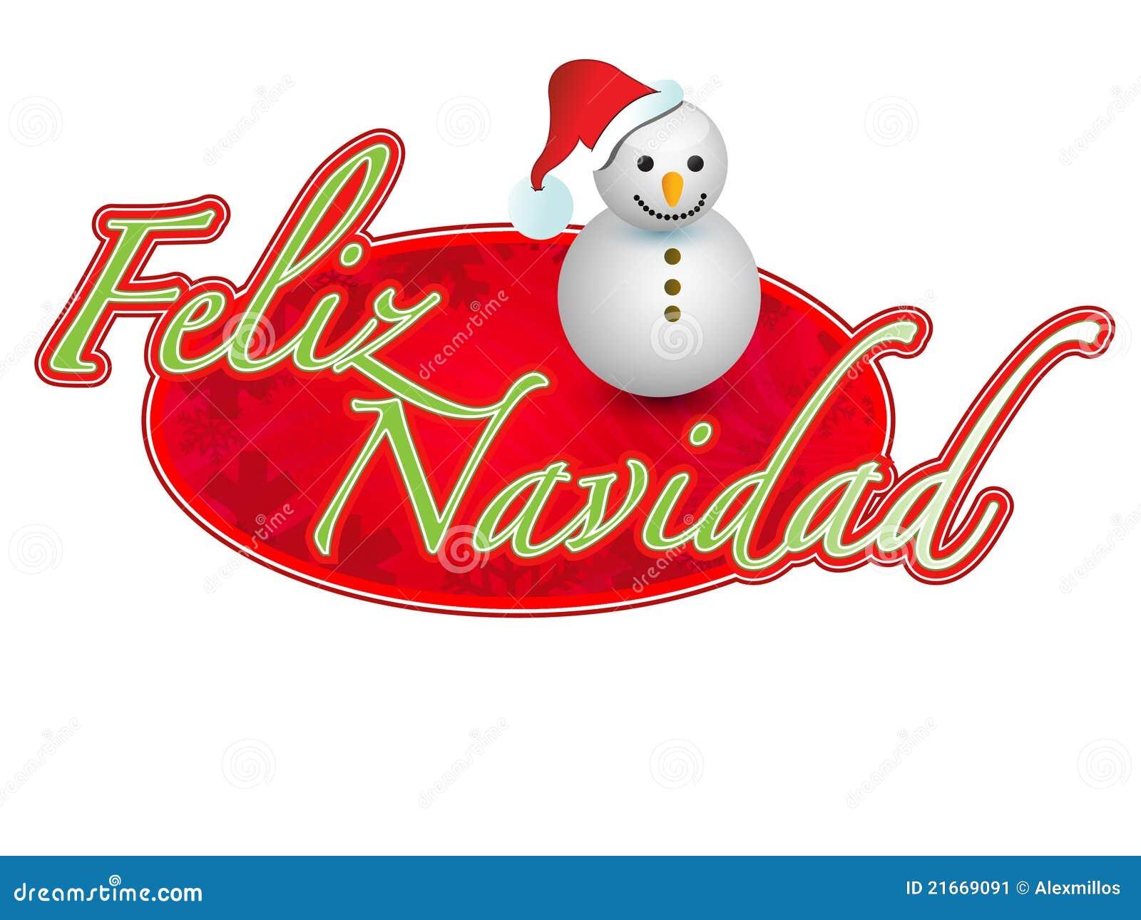 espagnol signe de bonhomme de neige de joyeux no l. Black Bedroom Furniture Sets. Home Design Ideas