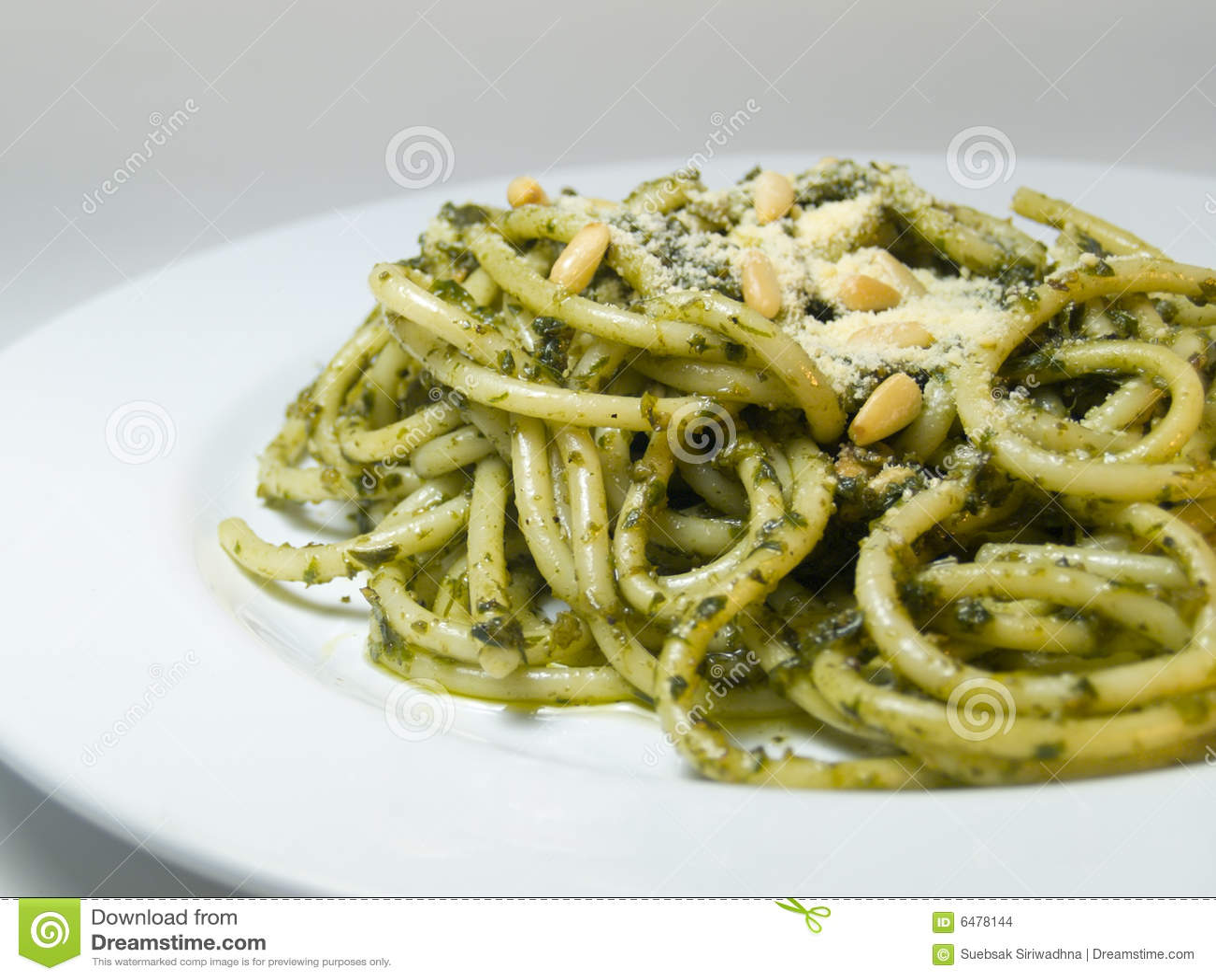 Espagueti Pesto