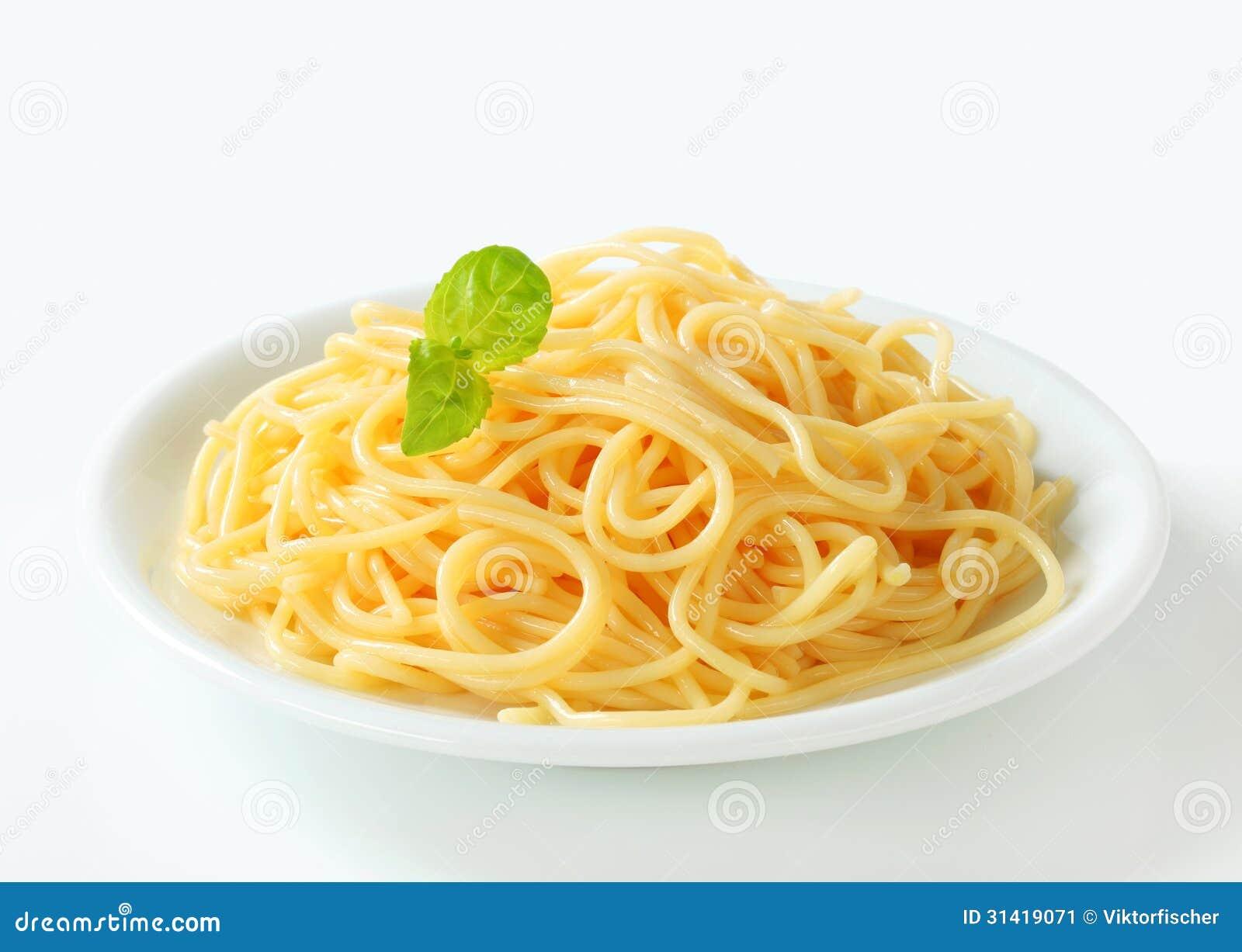Espaguetis hervidos imagen de archivo imagen 31419071 for Plato de espaguetis