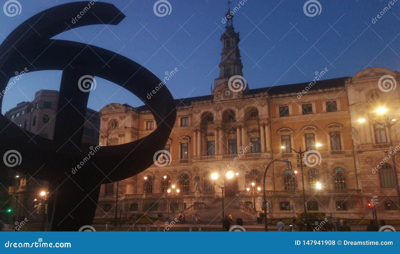 Espanha de Ayuntamiento de Bilbao Vizcaya