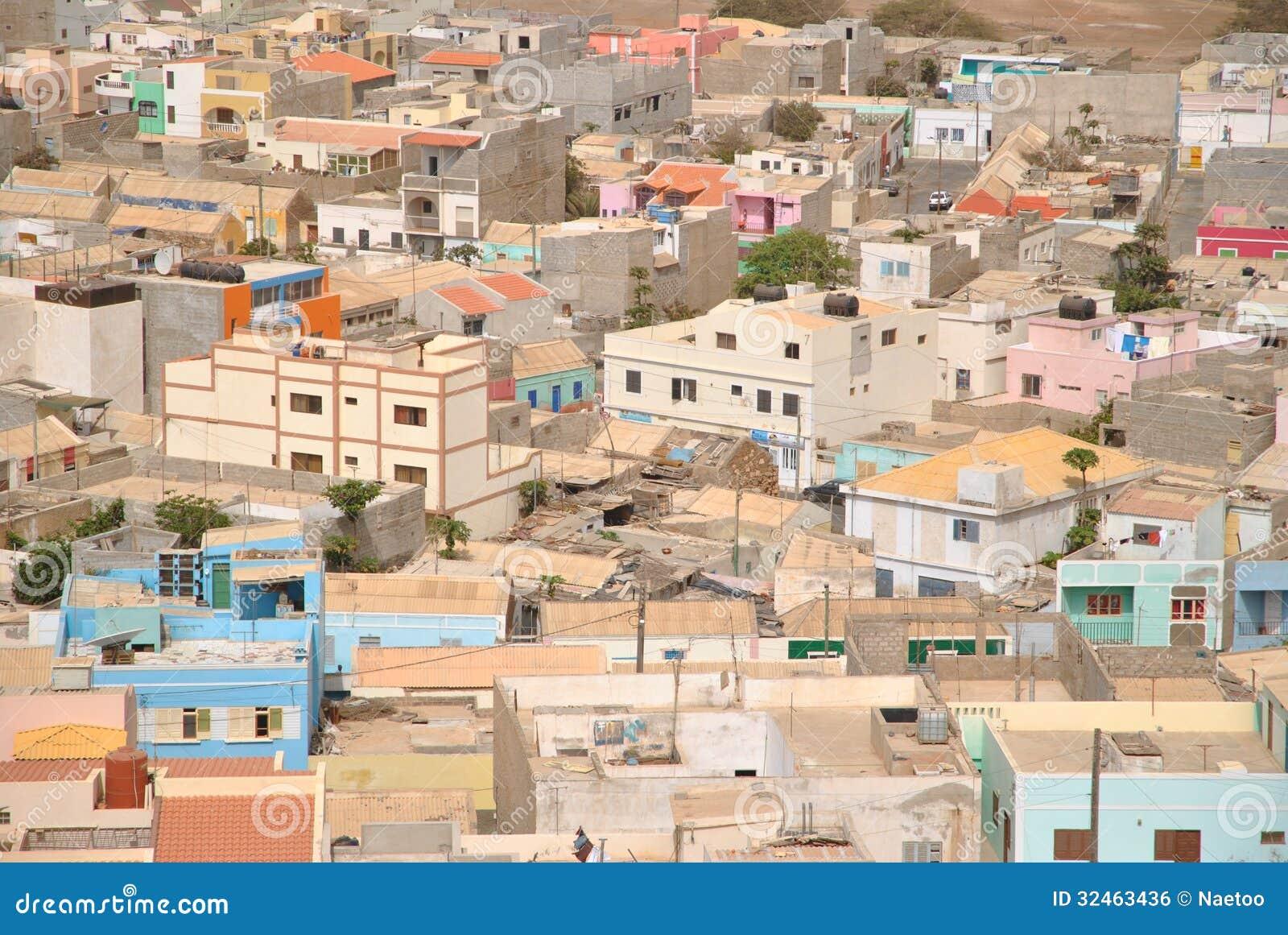 Espargos Capital City Of Island Sal Cabo Verde Royalty Free Stock Image Image 32463436