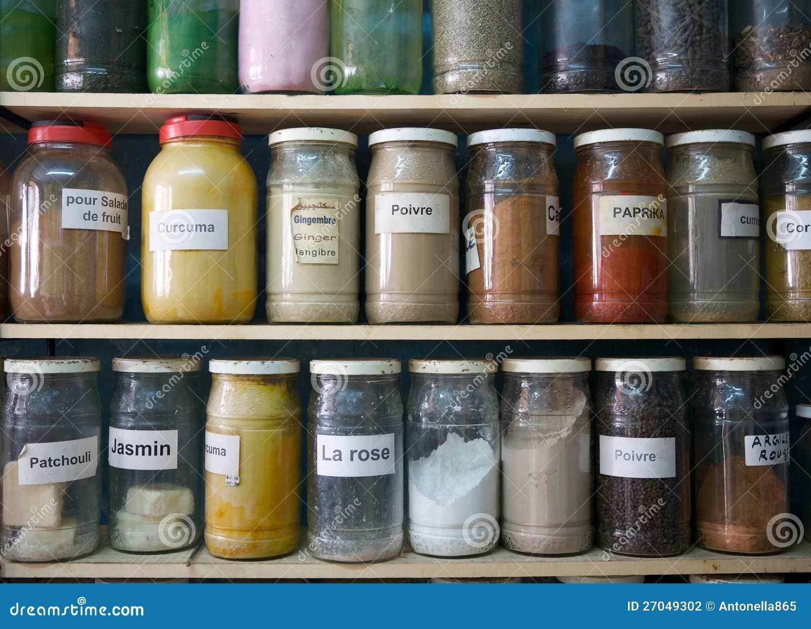 Especiarias e sabores naturais
