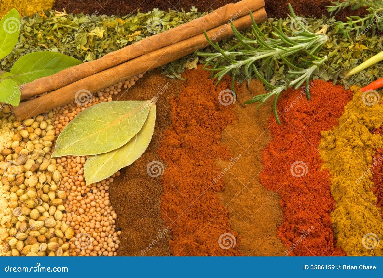 Especias e hierbas