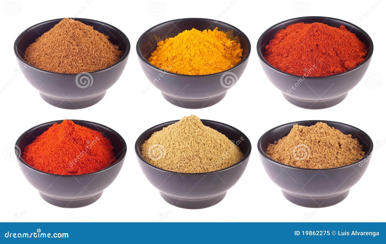 Especias indias