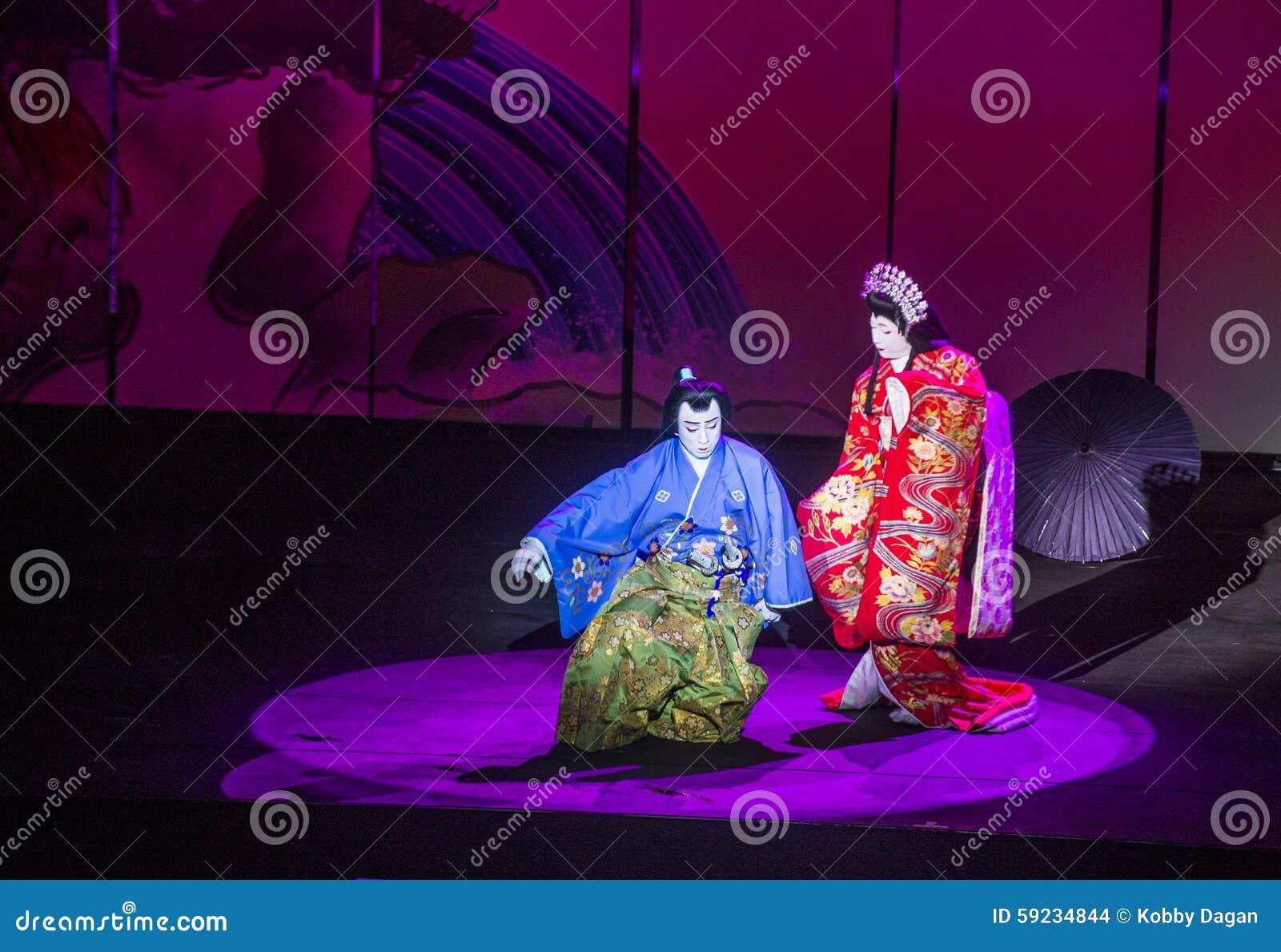 Download Espectáculo De Kabuki En Las Fuentes De Bellagio Imagen de archivo editorial - Imagen de tradición, bailarín: 59234844