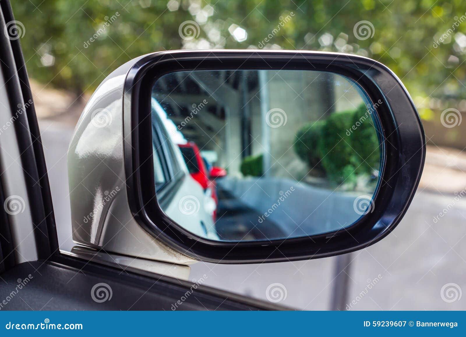 Download Espejo del coche imagen de archivo. Imagen de viaje, freeway - 59239607