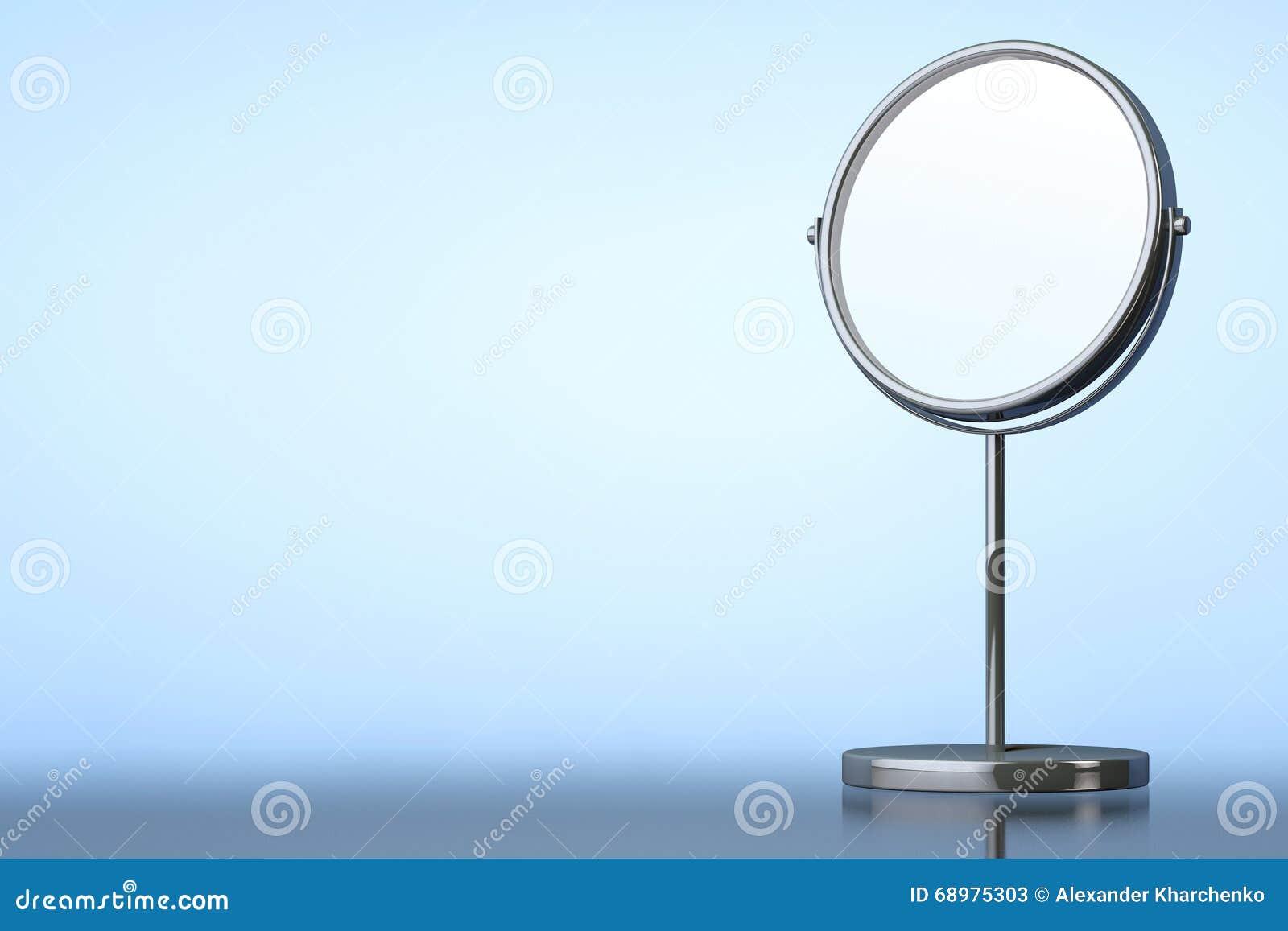 Espejo del maquillaje de Chrome