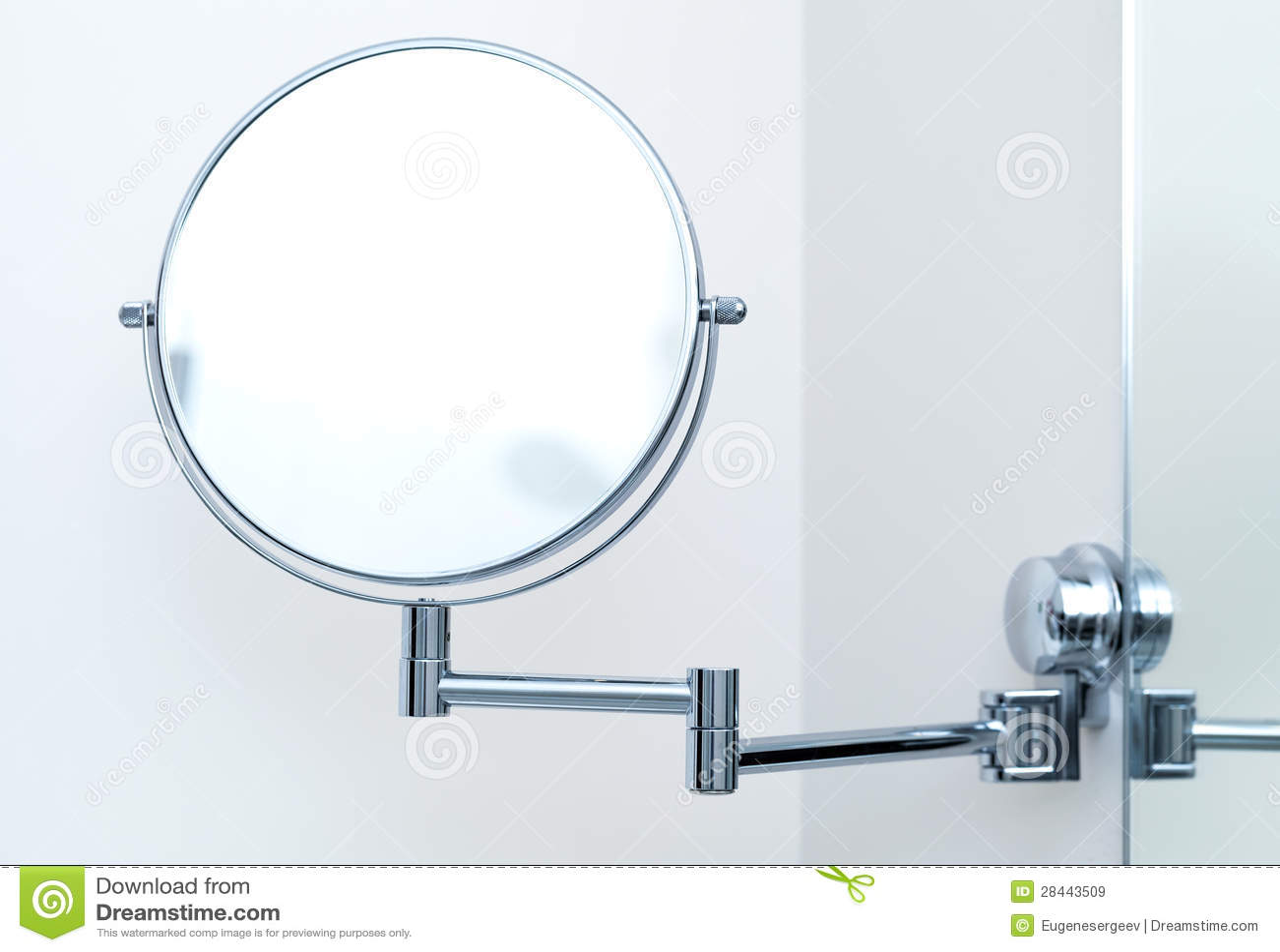 Espejo redondo de la pared para el ba o im genes de - Espejo redondo bano ...
