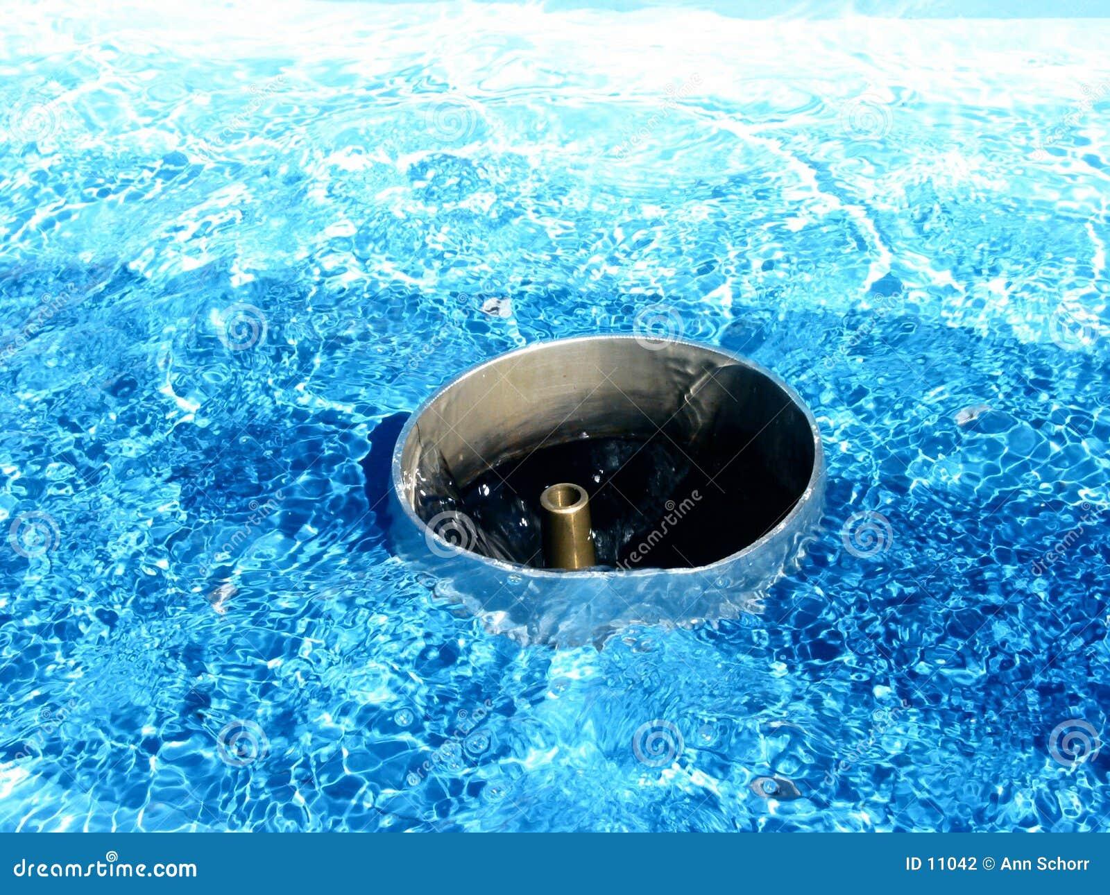 Esperando a água