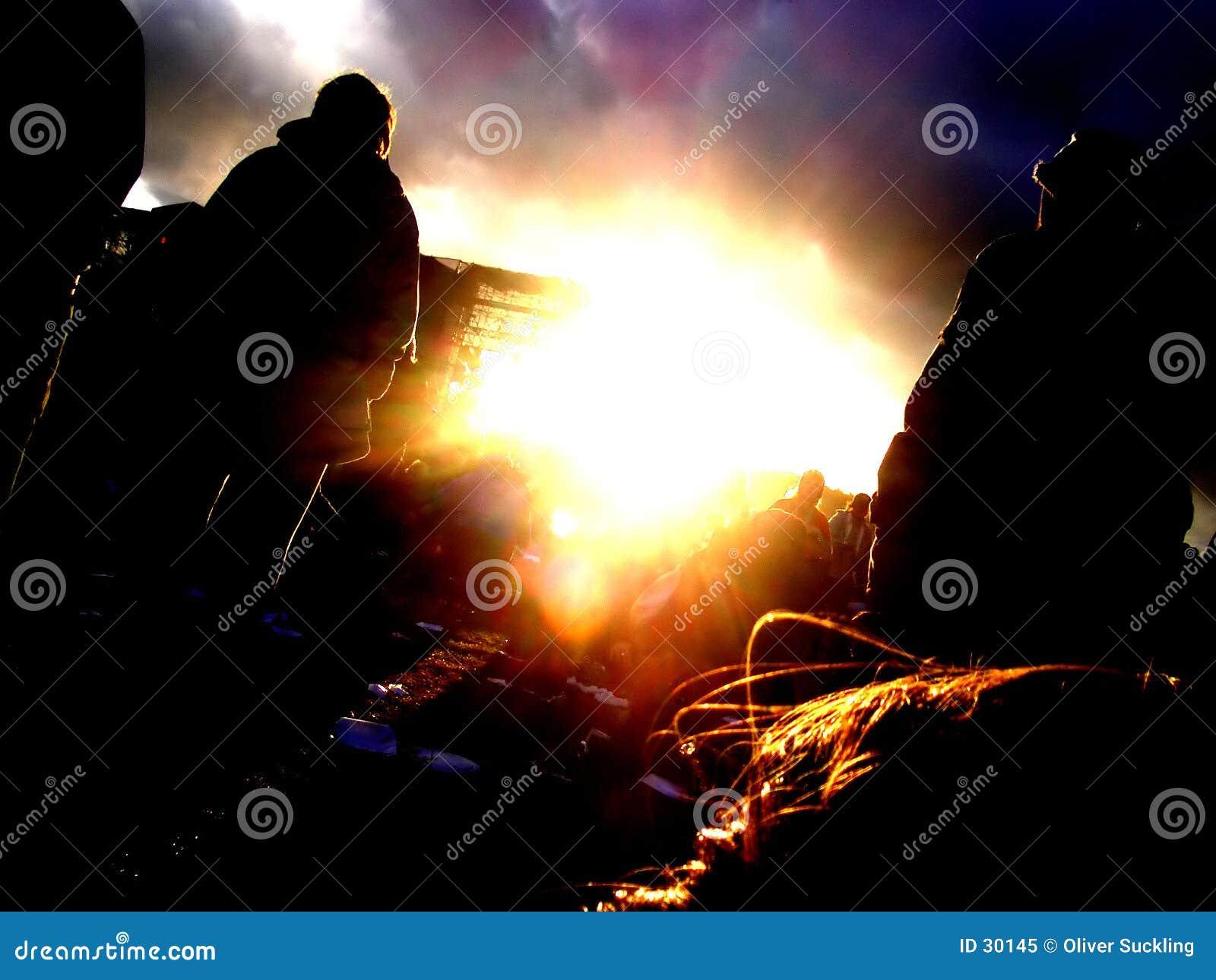 Esperando o por do sol