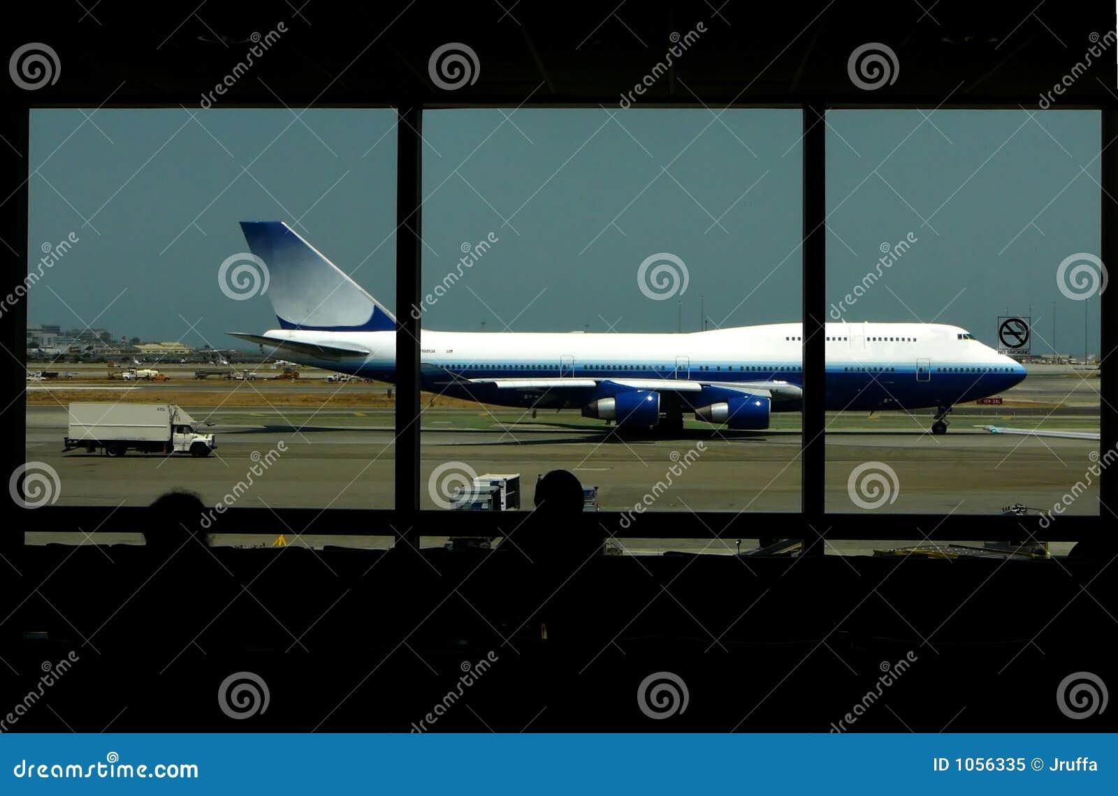 Esperando um vôo