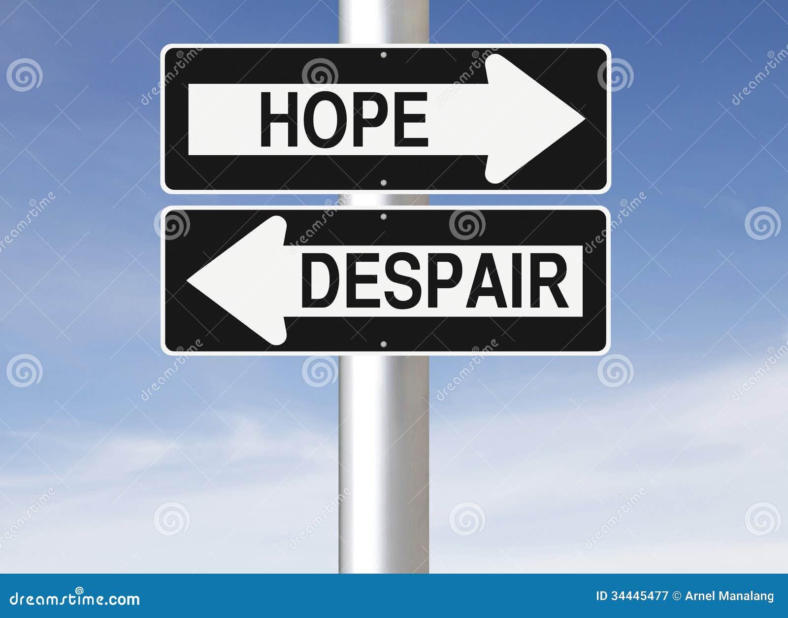 Esperanza o desesperación