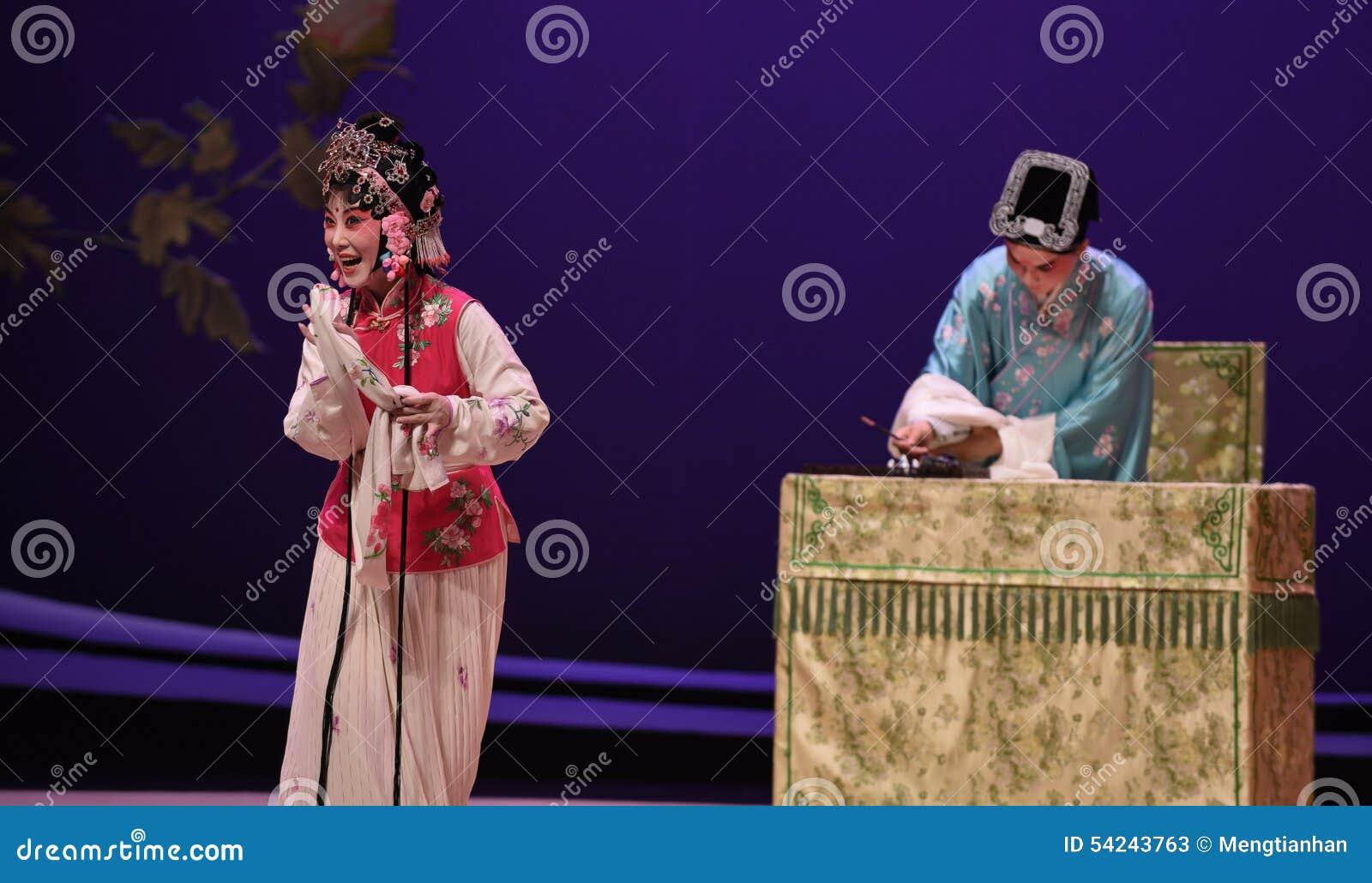 """Esperar un  del oeste de Chamber†del """"the de la ópera de la letra-Kunqu del amor"""