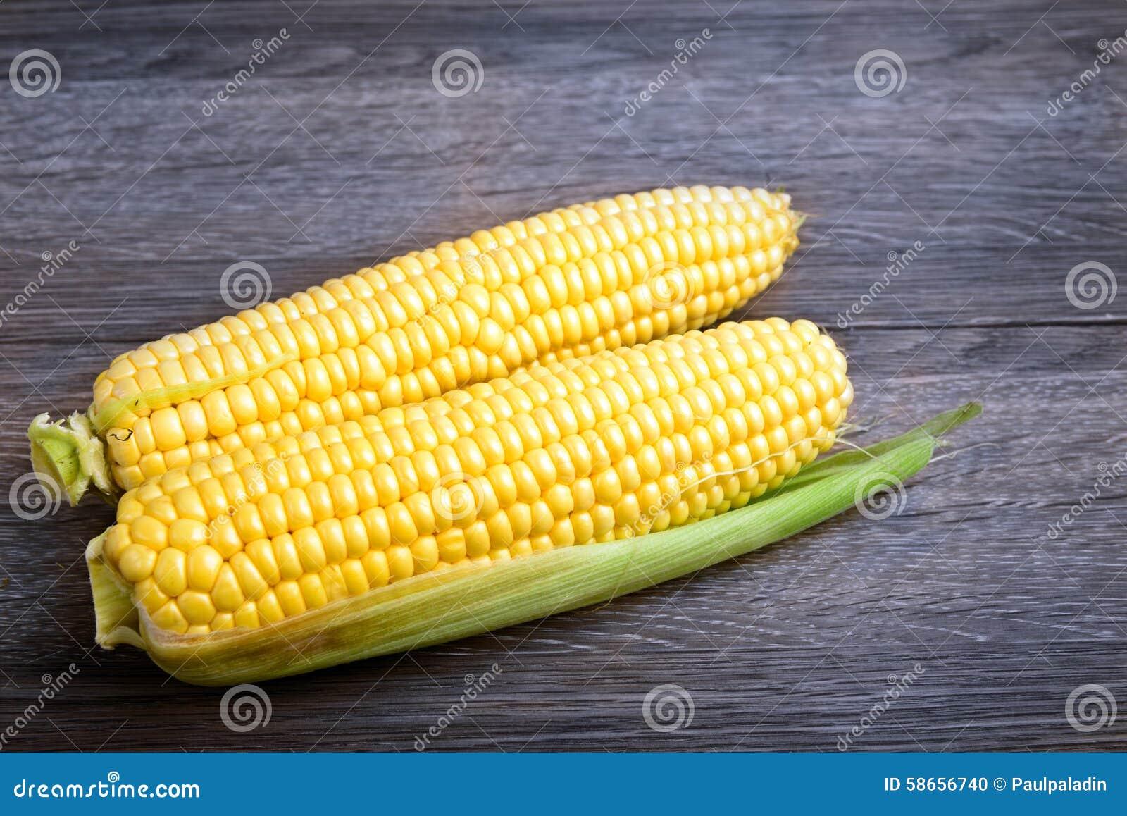 Espigas do milho doce