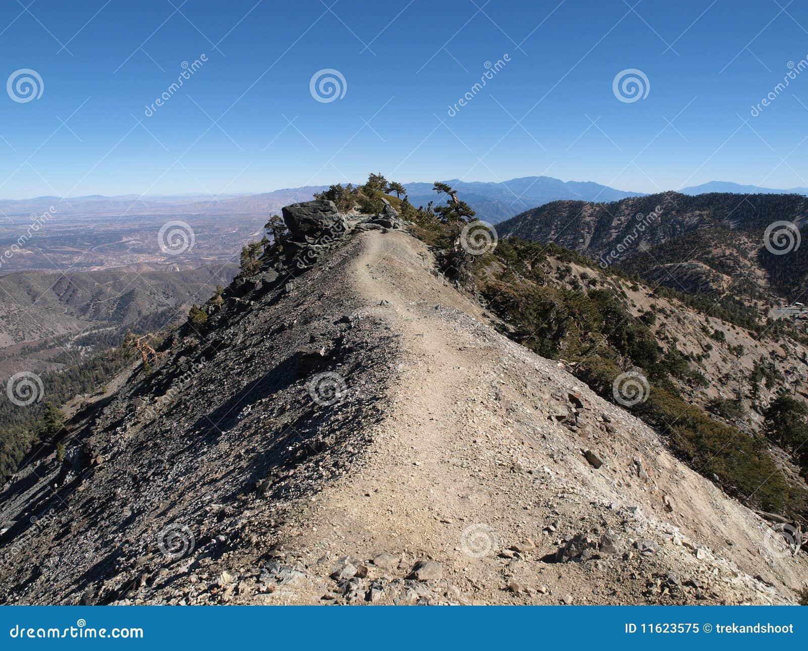 Espina dorsal Mt Baldy del diablo
