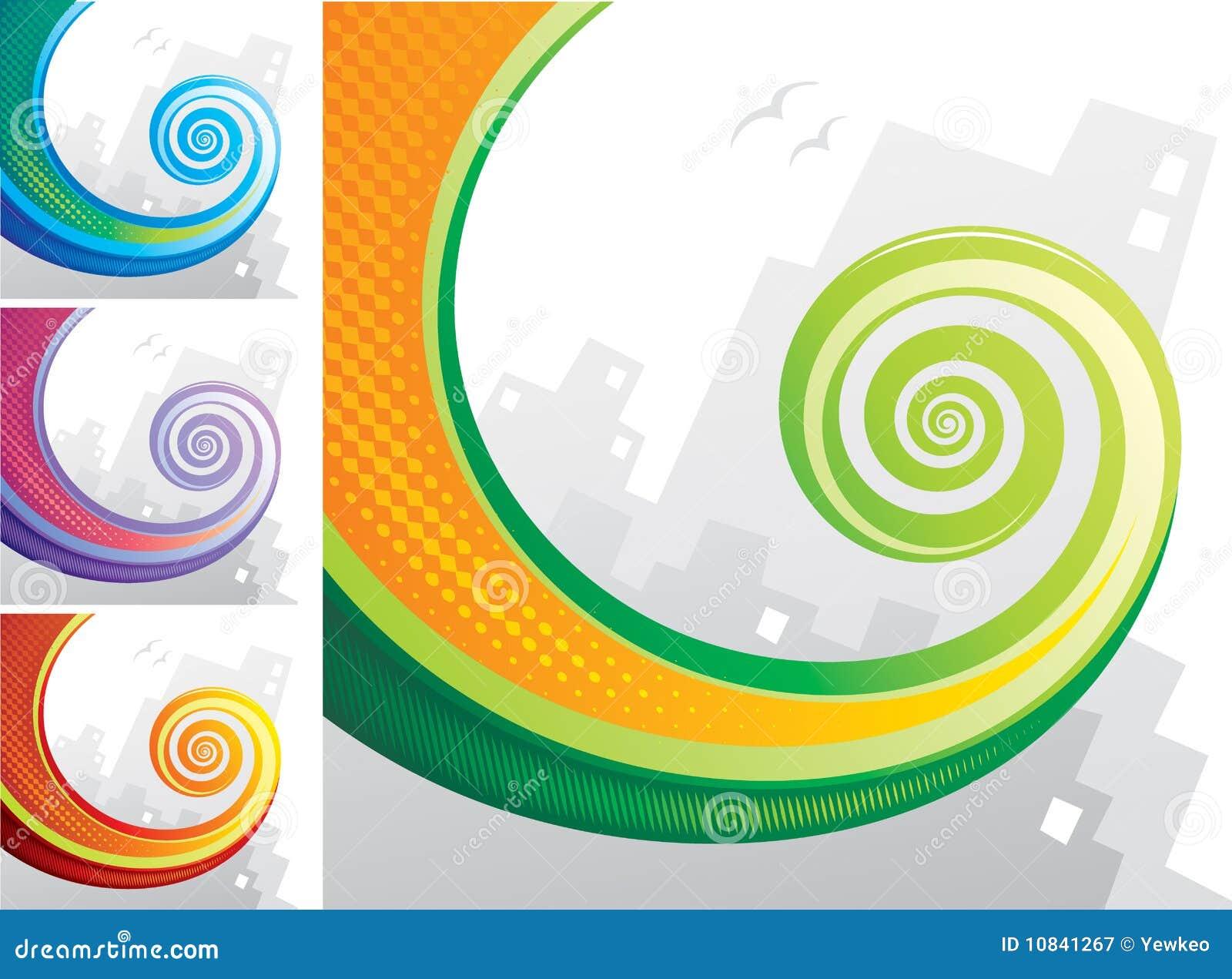 Espiral de la cola