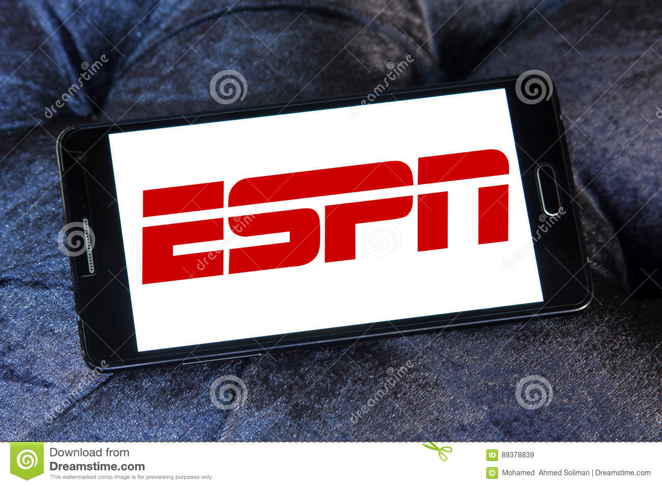 Espn Logo Editorial Stock Image Image Of Battle Business 89378839