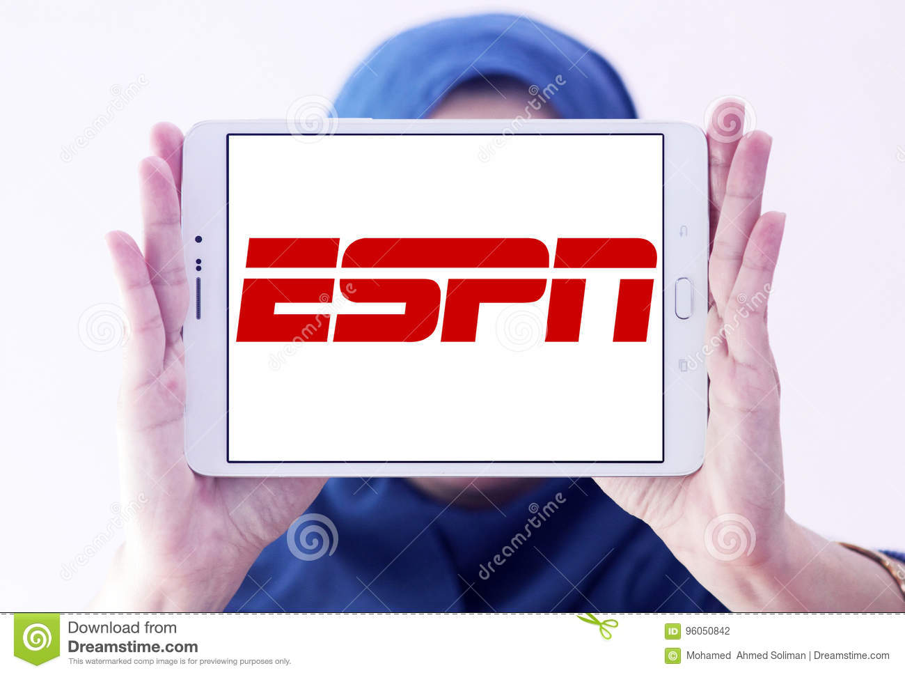 Espn Logo Editorial Photography Image Of Broadcasting 96050842