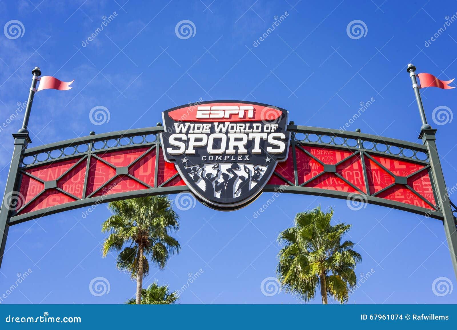 ESPN, Wide World Of Sports, Florida, USA, 4 Jan 2016