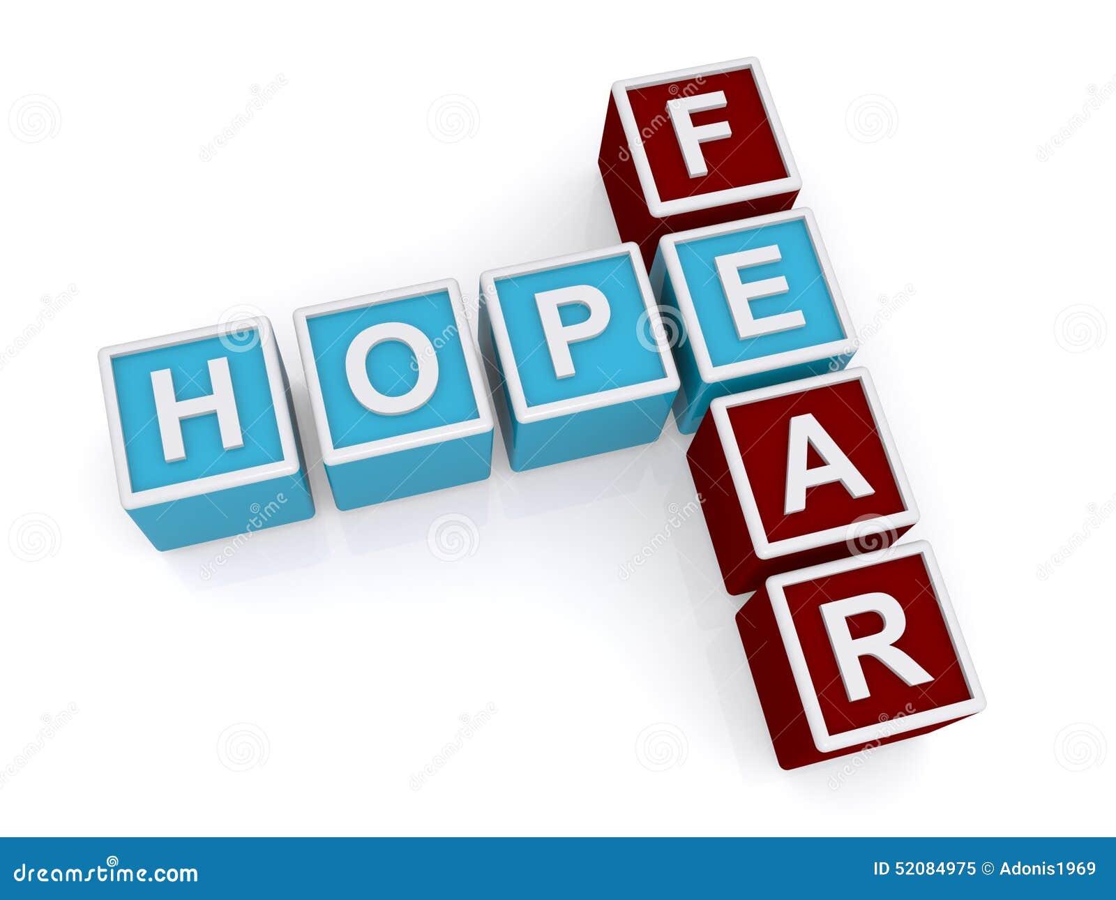 Espoir, crainte