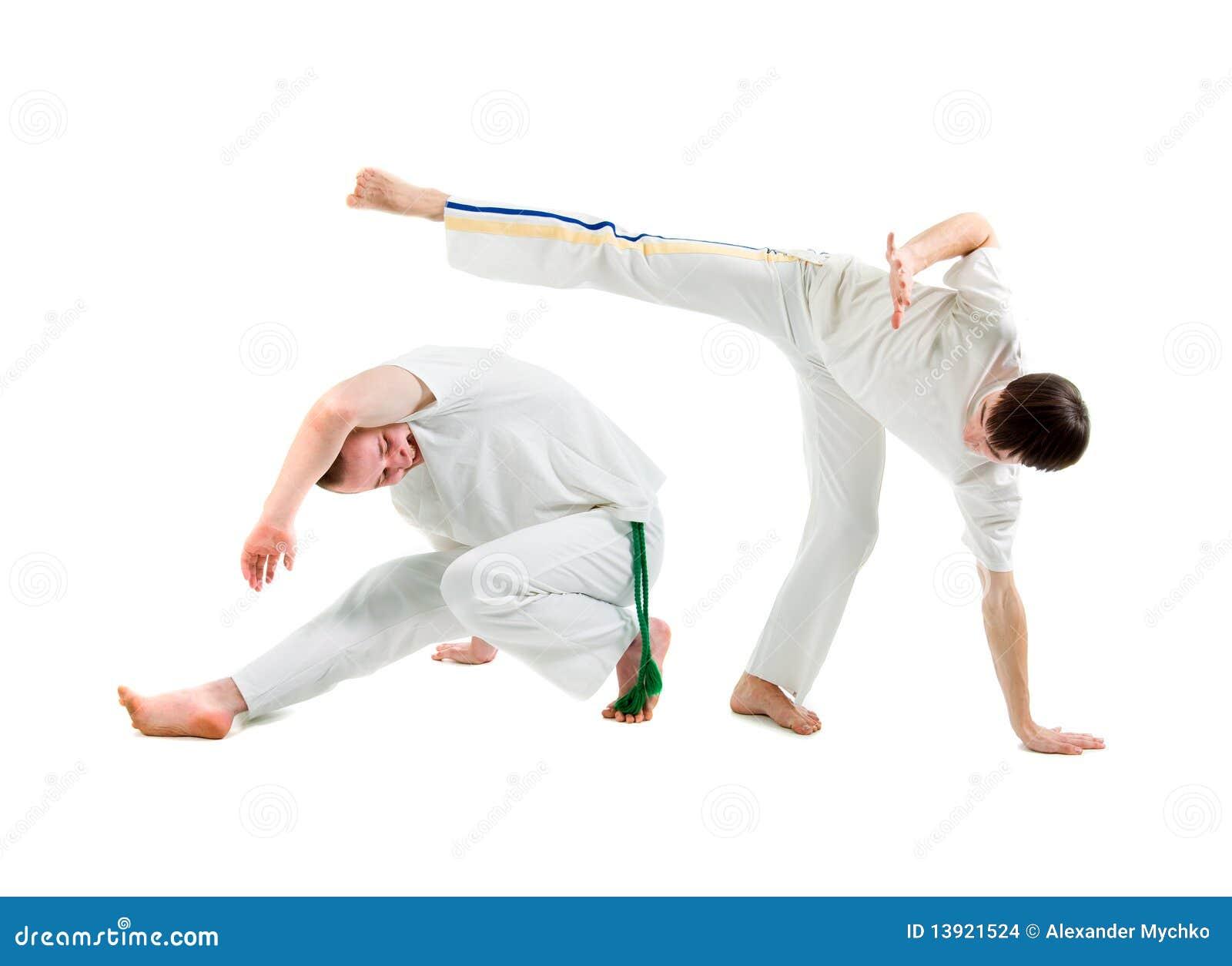 Esporte De Contato. Capoeira. Foto de Stock - Imagem de