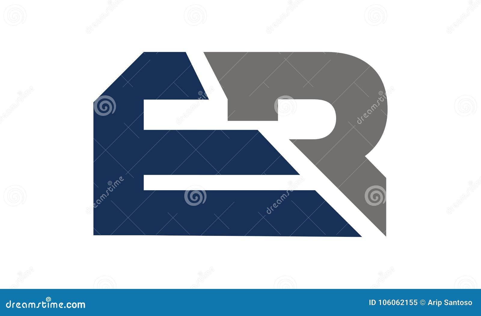 5a95a25ec Esporte do ER da letra ilustração do vetor. Ilustração de capital ...